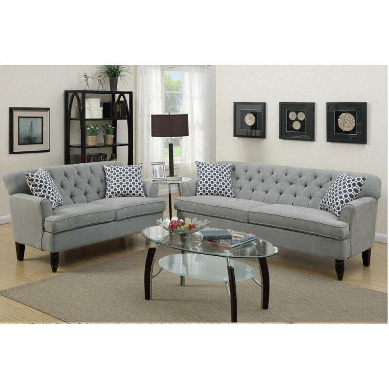 Plaid Sofa And Loveseat Thesofa