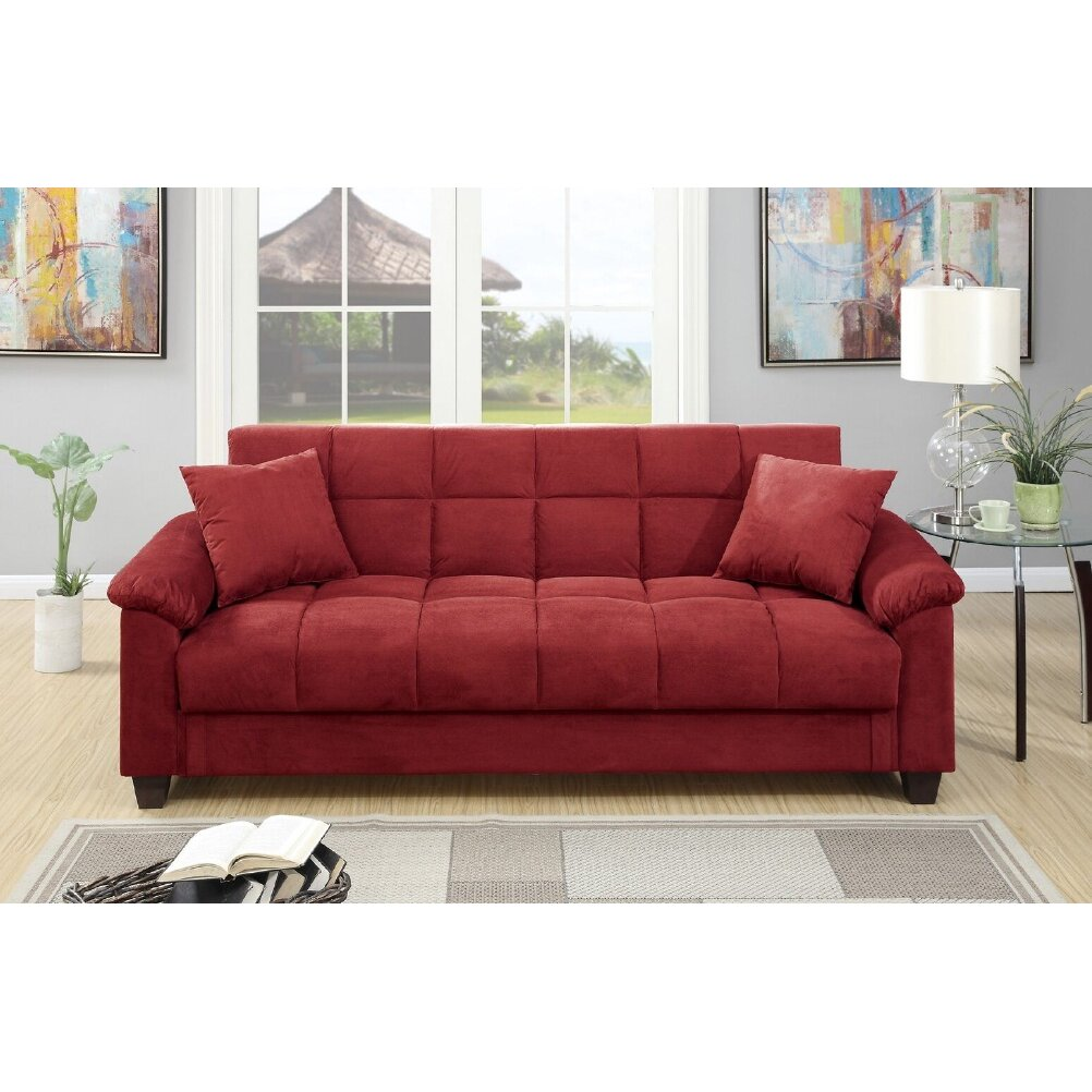 AampJ Homes Studio Lakeview Adjustable Storage Sofa