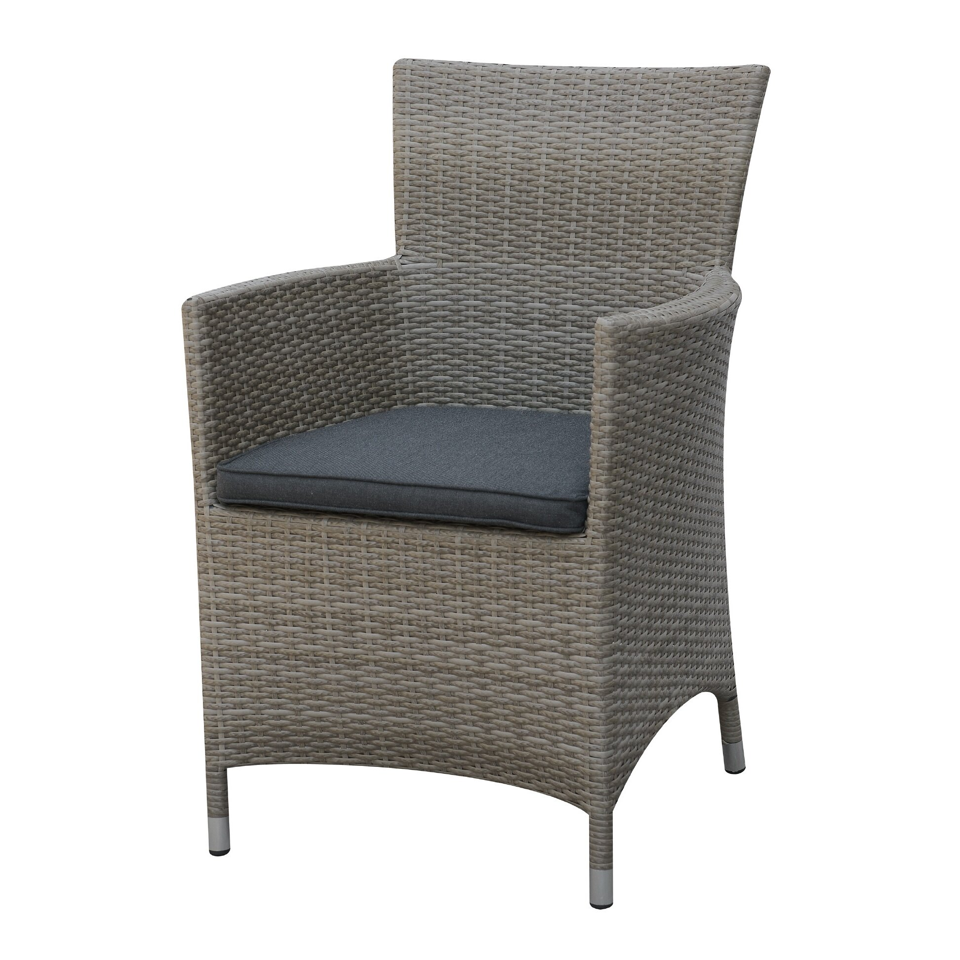A J Homes Studio Rica Outdoor Dining Arm Chair