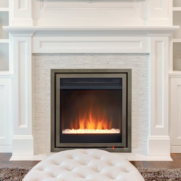 Pacific Heat Wall Mount Electric Fireplace Insert Wayfair Ca