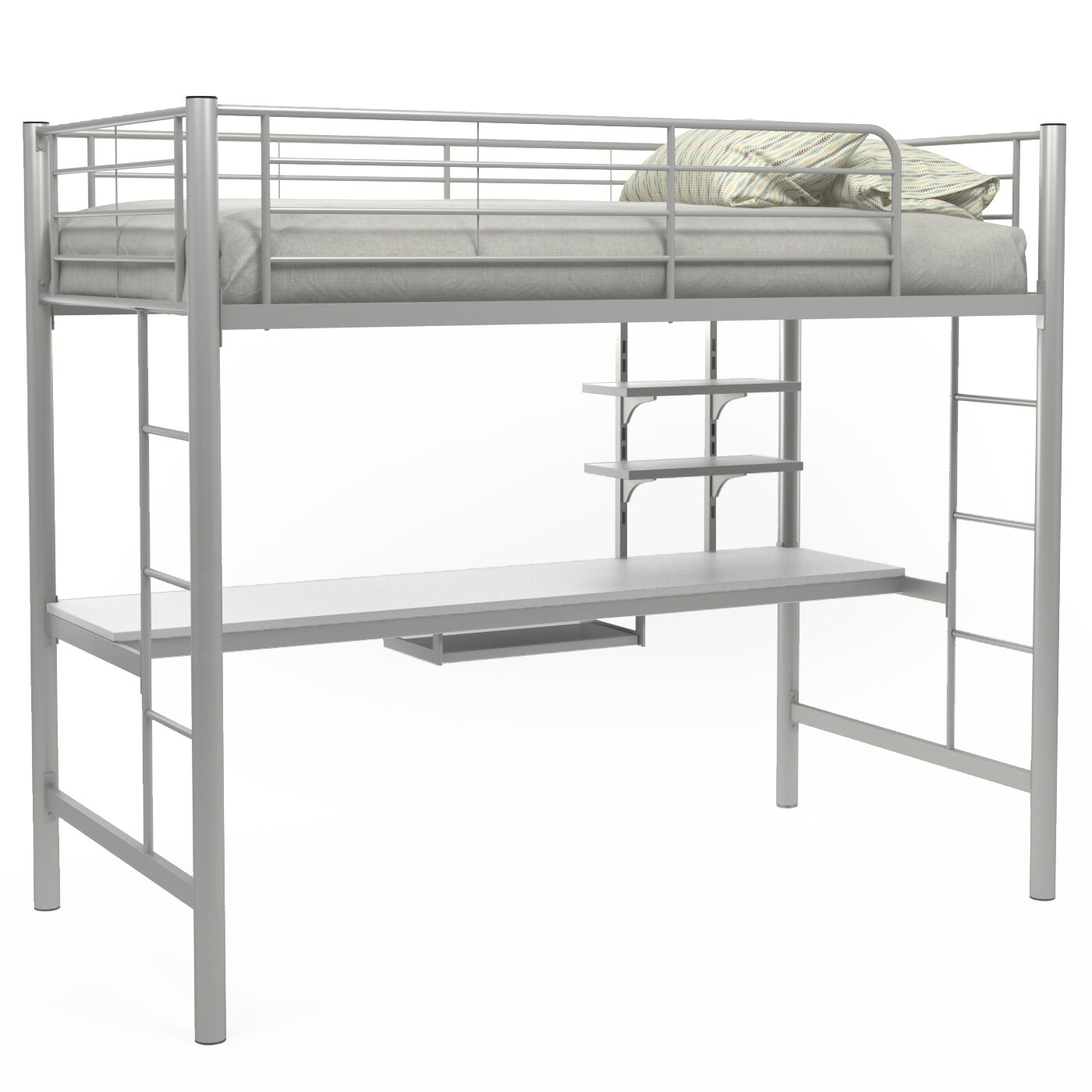 gibson living andover twin loft bed