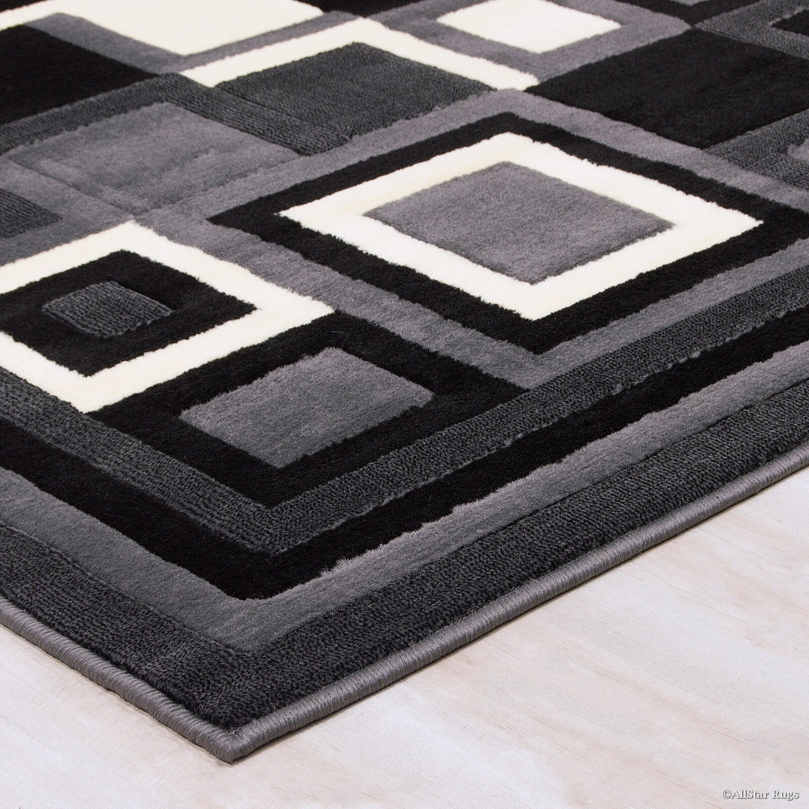 Gray And Black Area Rugs Roselawnlutheran