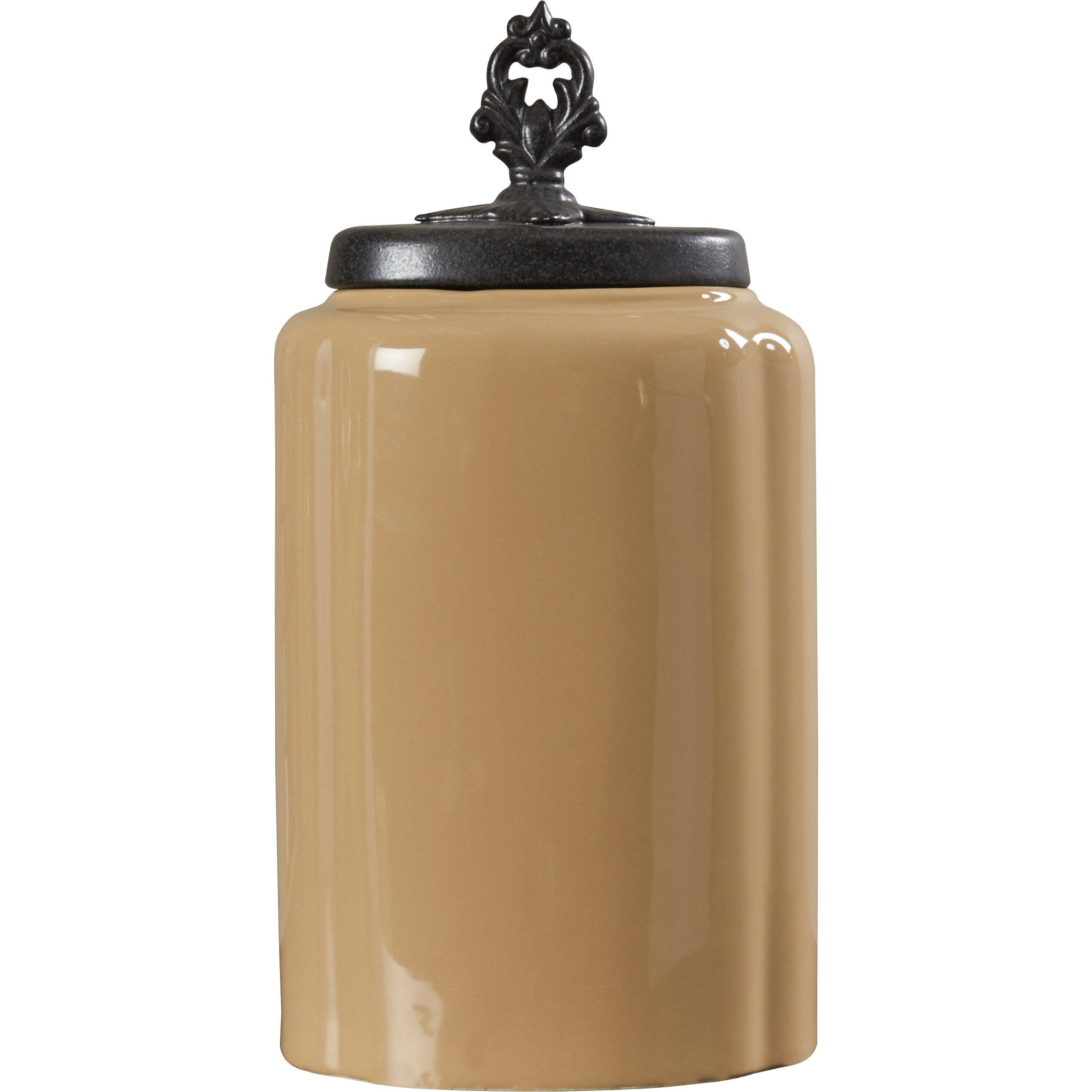 design guild 3 piece kitchen canister set reviews