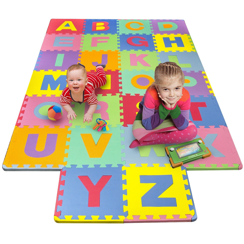 matney foam alphabet puzzle floor mat