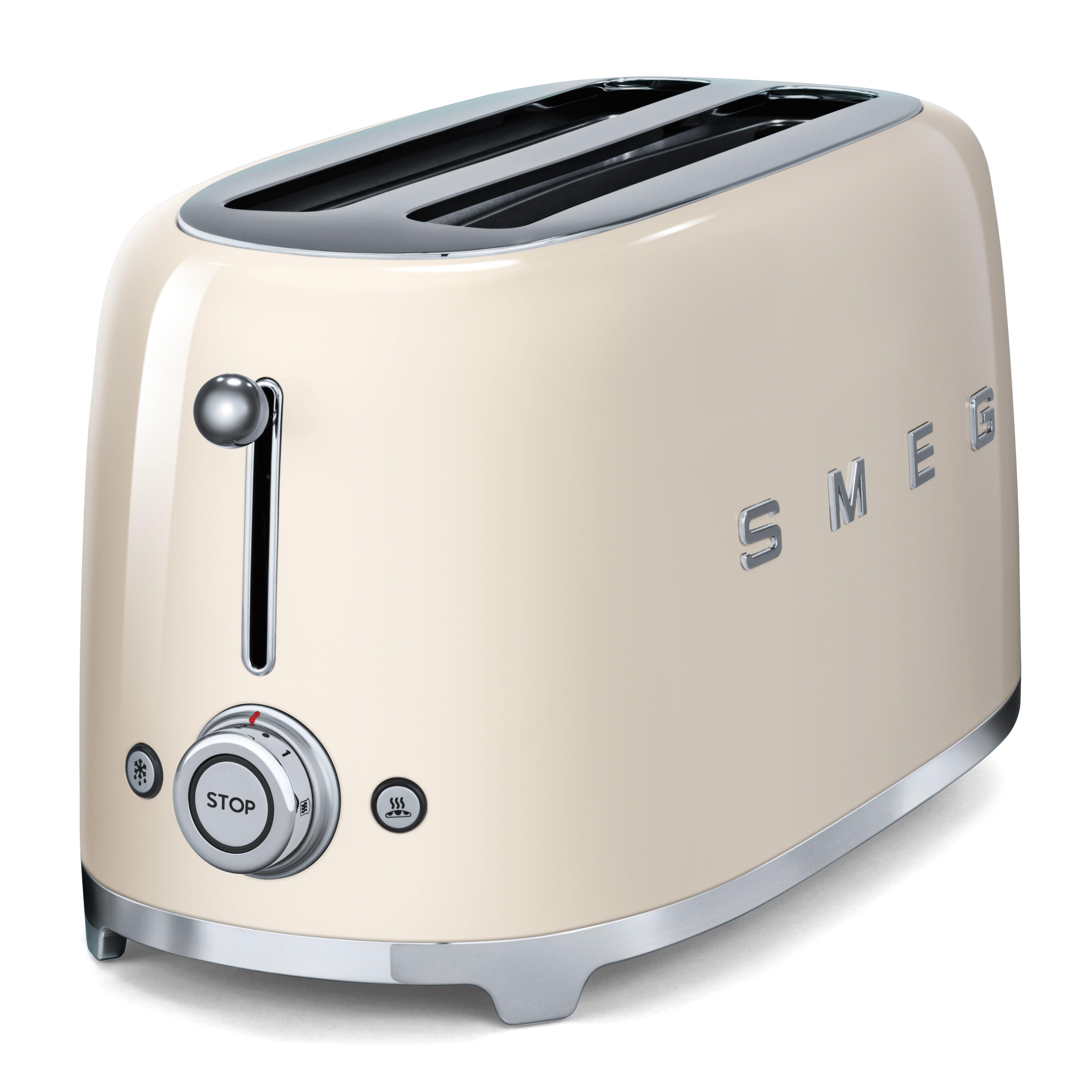 50s Style Kitchen Appliances Smeg 50s Style 4 Slice Toaster Reviews Wayfair