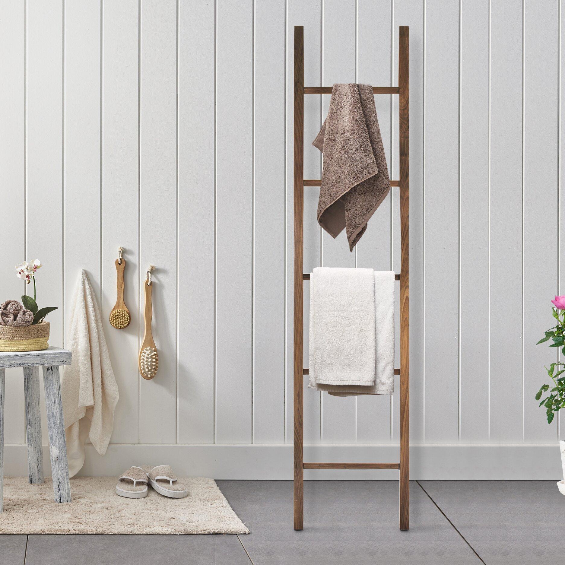 American Trails Decorative Ladder Free Standing Towel Rack
