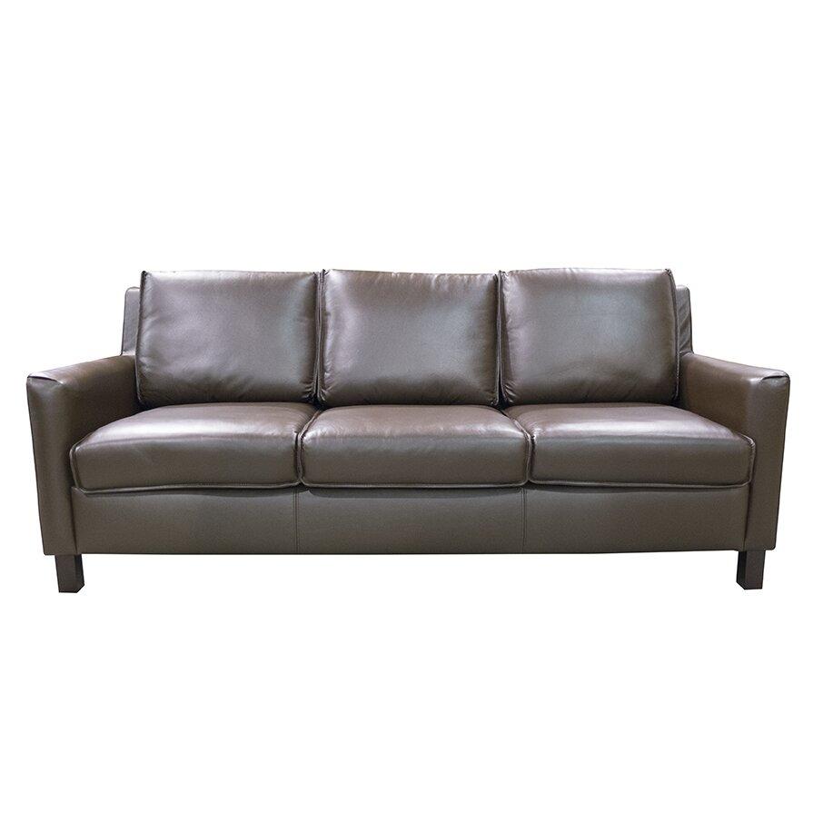 Leather Sofas Reviews: Coja Denver Leather Standard Sofa & Reviews