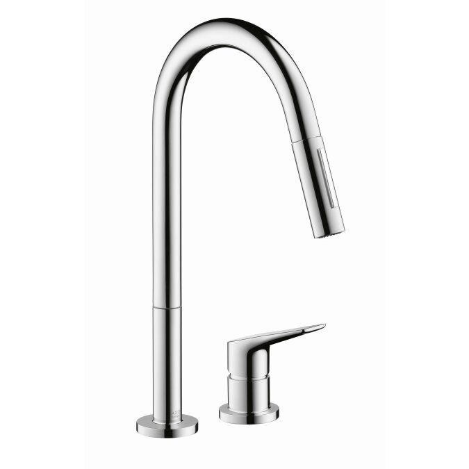 charming Axor Citterio Kitchen Faucet #3: Axor Axor Citterio M Single Handle Deck Mounted Kitchen Faucet