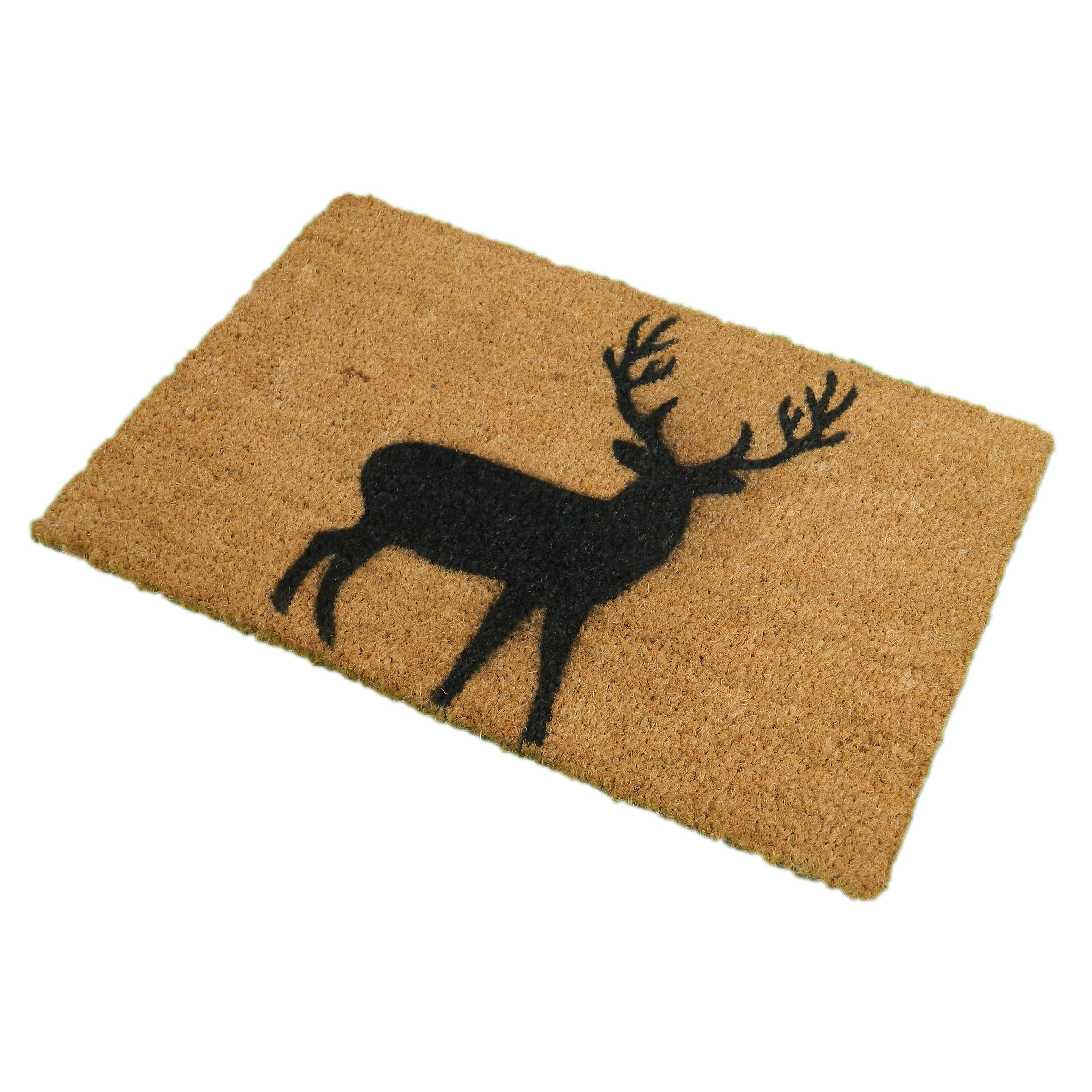 Artsy Doormats Stag Doormat & Reviews