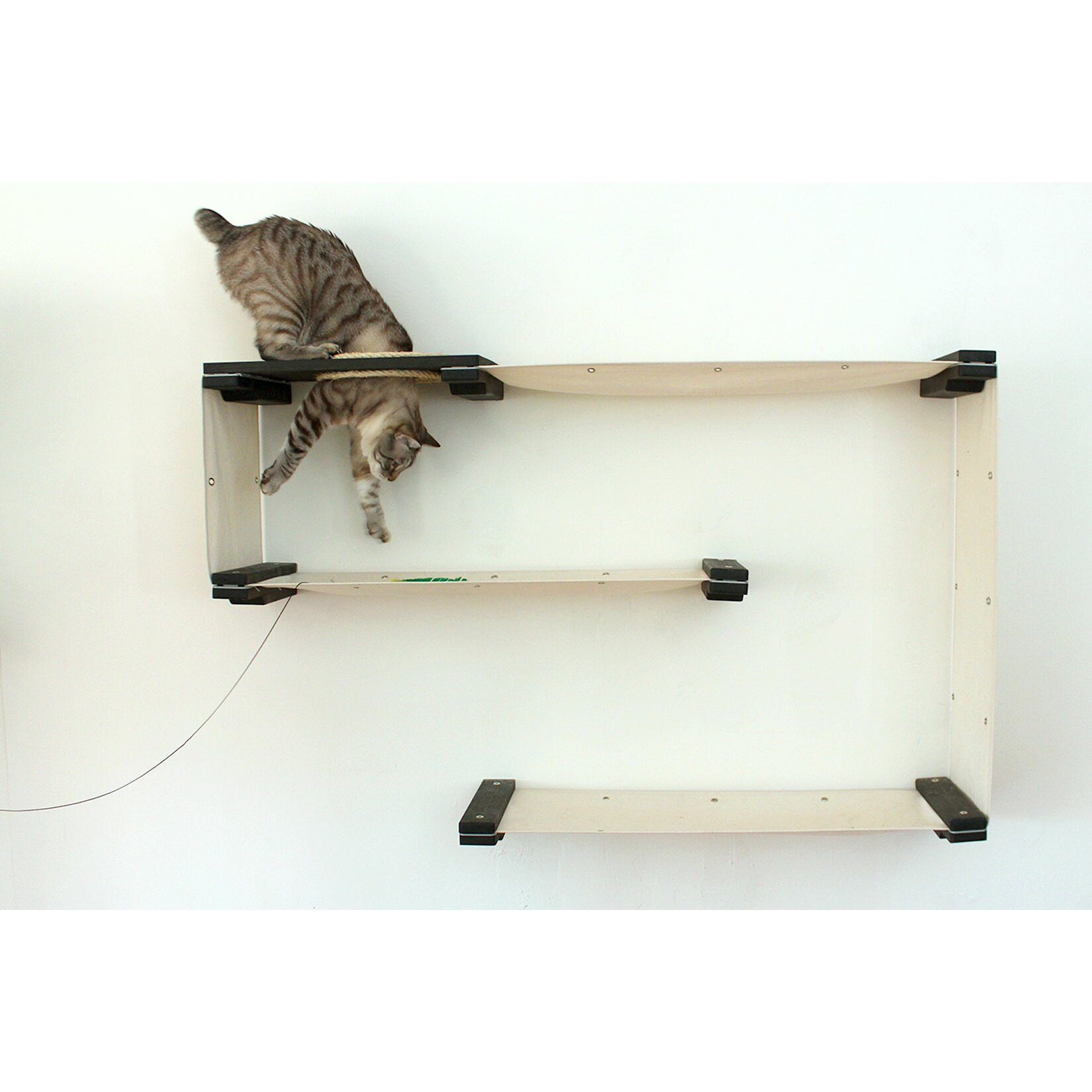 Catastrophicreations 31 mod handcrafted wall mounted cat tree - Wall mounted cat climber ...
