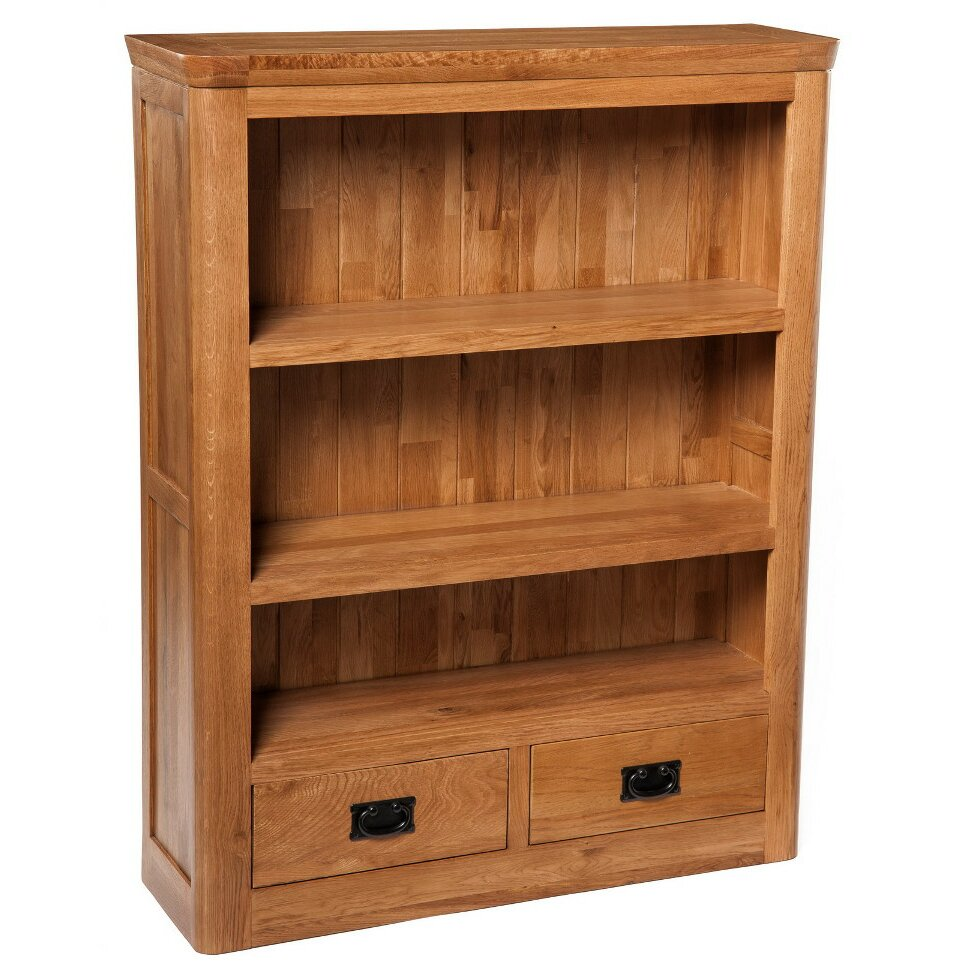 Hallowood Furniture London 120cm Bookcase Wayfair Uk