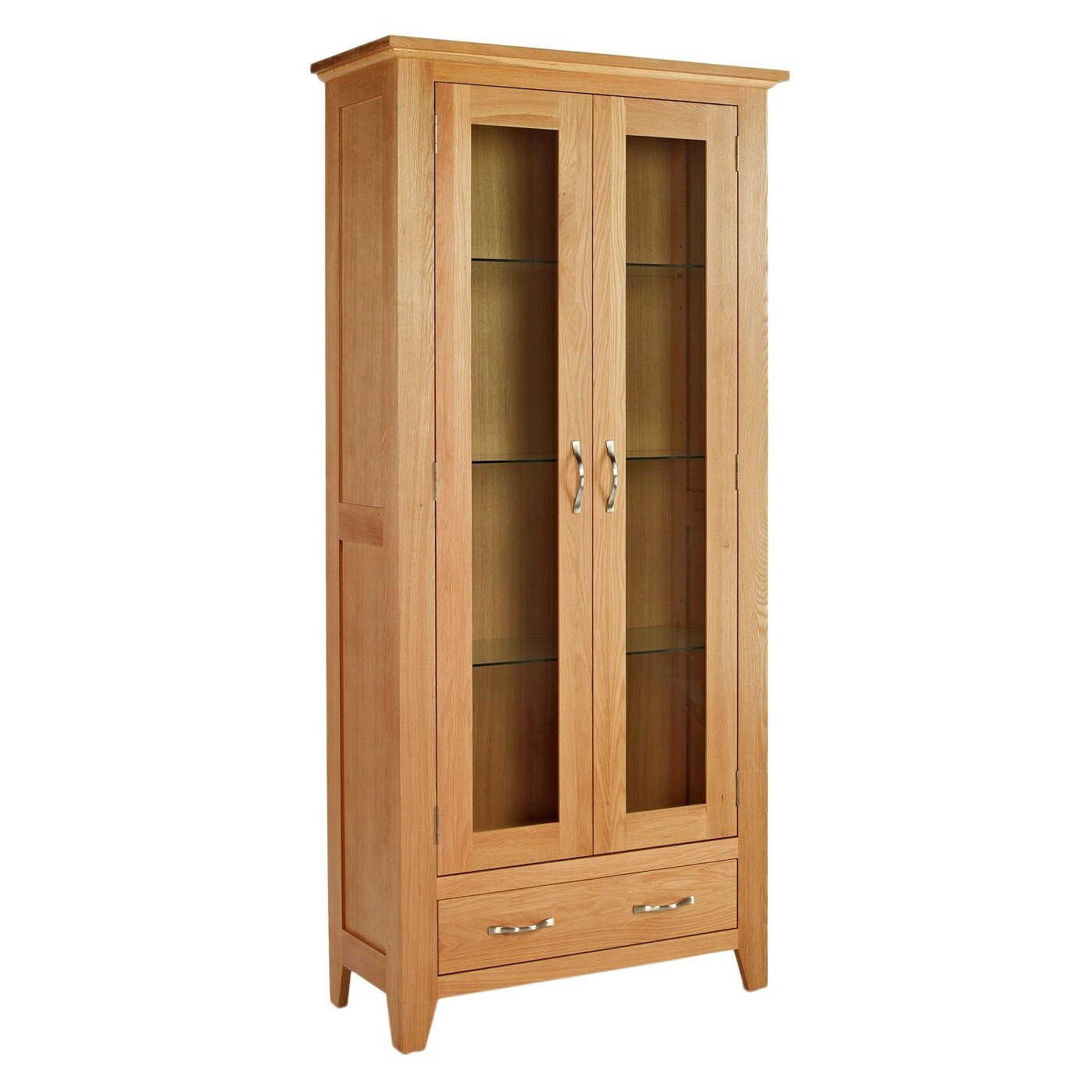 hallowood furniture camberley display cabinet wayfair uk. Black Bedroom Furniture Sets. Home Design Ideas