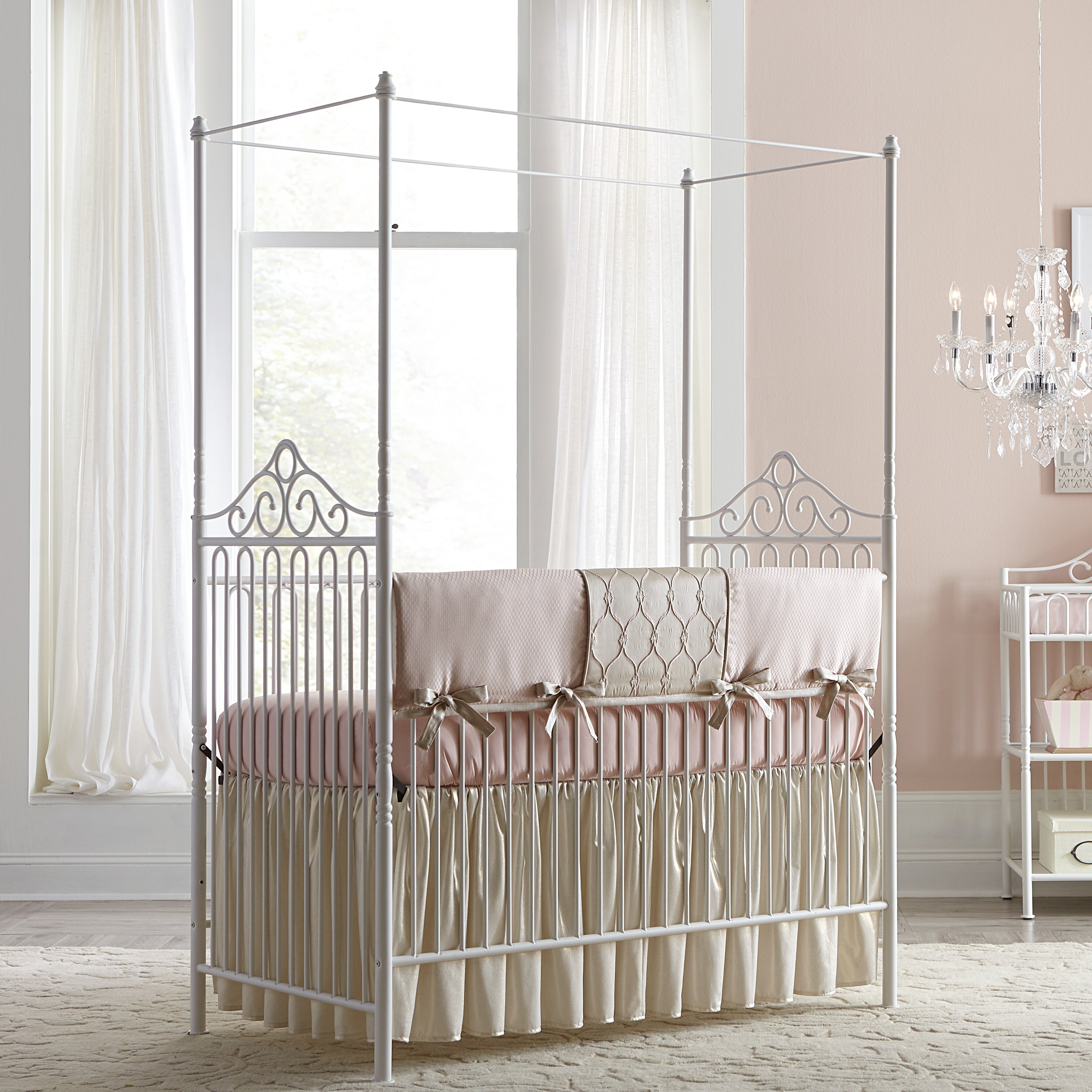 Crib for sale louisville ky - Baby Cribs Louisville Ky Baby S Dream Furniture Inc Angelica Canopy 2 In 1 Convertible