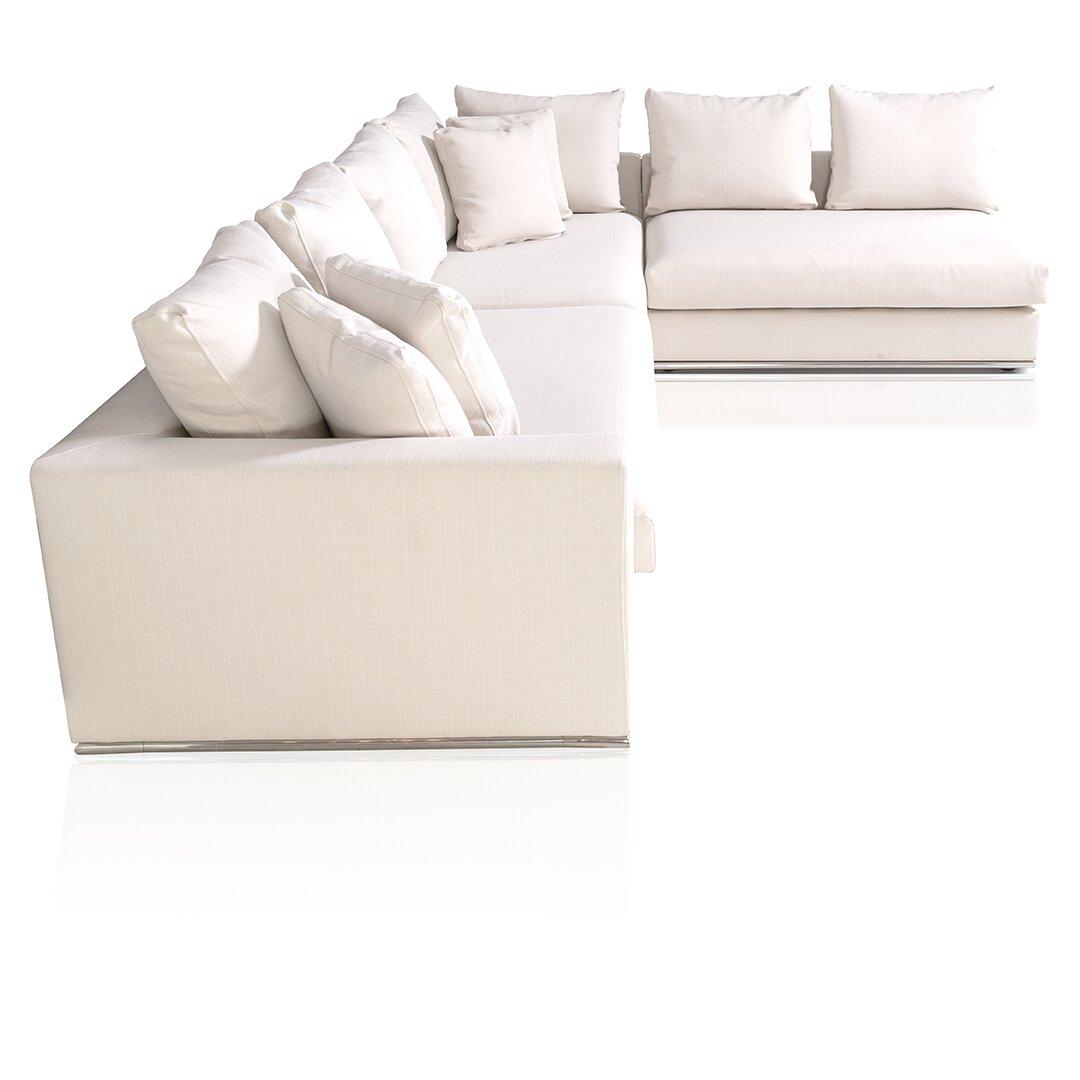 Urbanmod living reversible sectional reviews wayfair for Reversible sectional sofa meaning