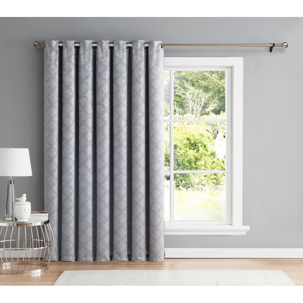 ME Redmont Patio Door Blackout Thermal Single Curtain Panel