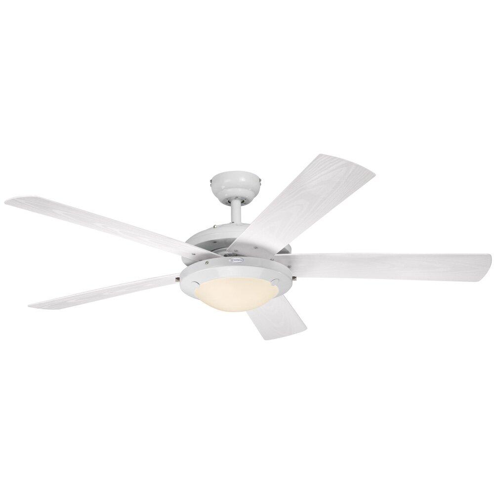 "Westinghouse Lighting 52"" et 5 Blade Ceiling Fan"