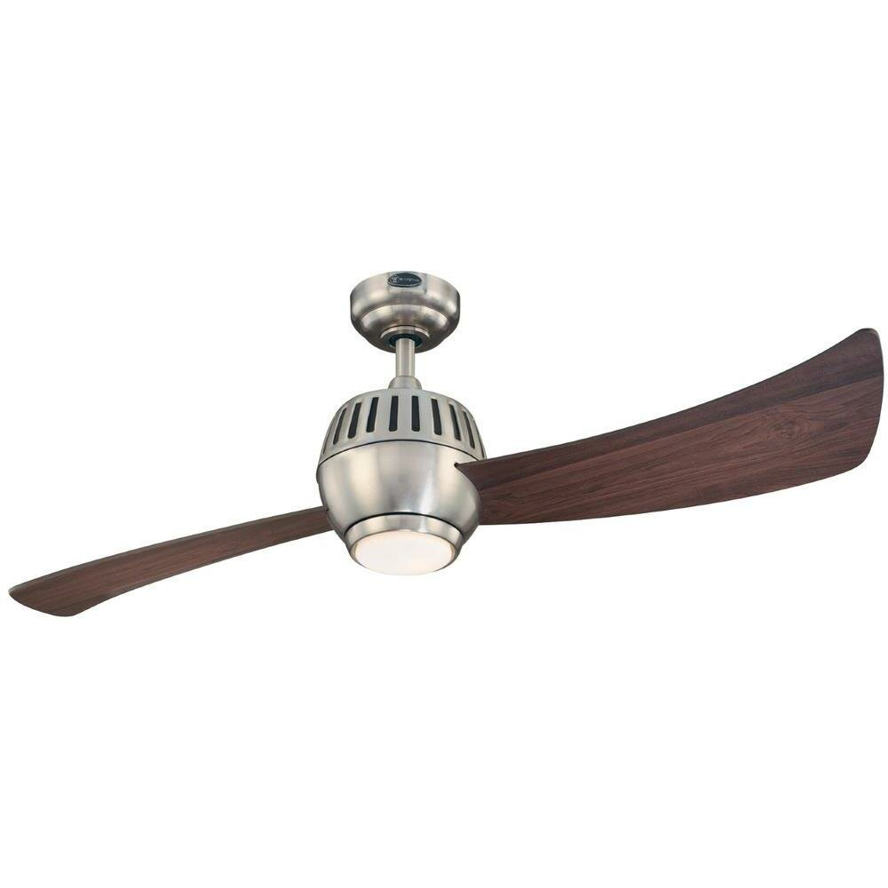 "2 Bladed Ceiling Fan: Westinghouse Lighting 52"" Sparta 2 Blade Ceiling Fan,Lighting"