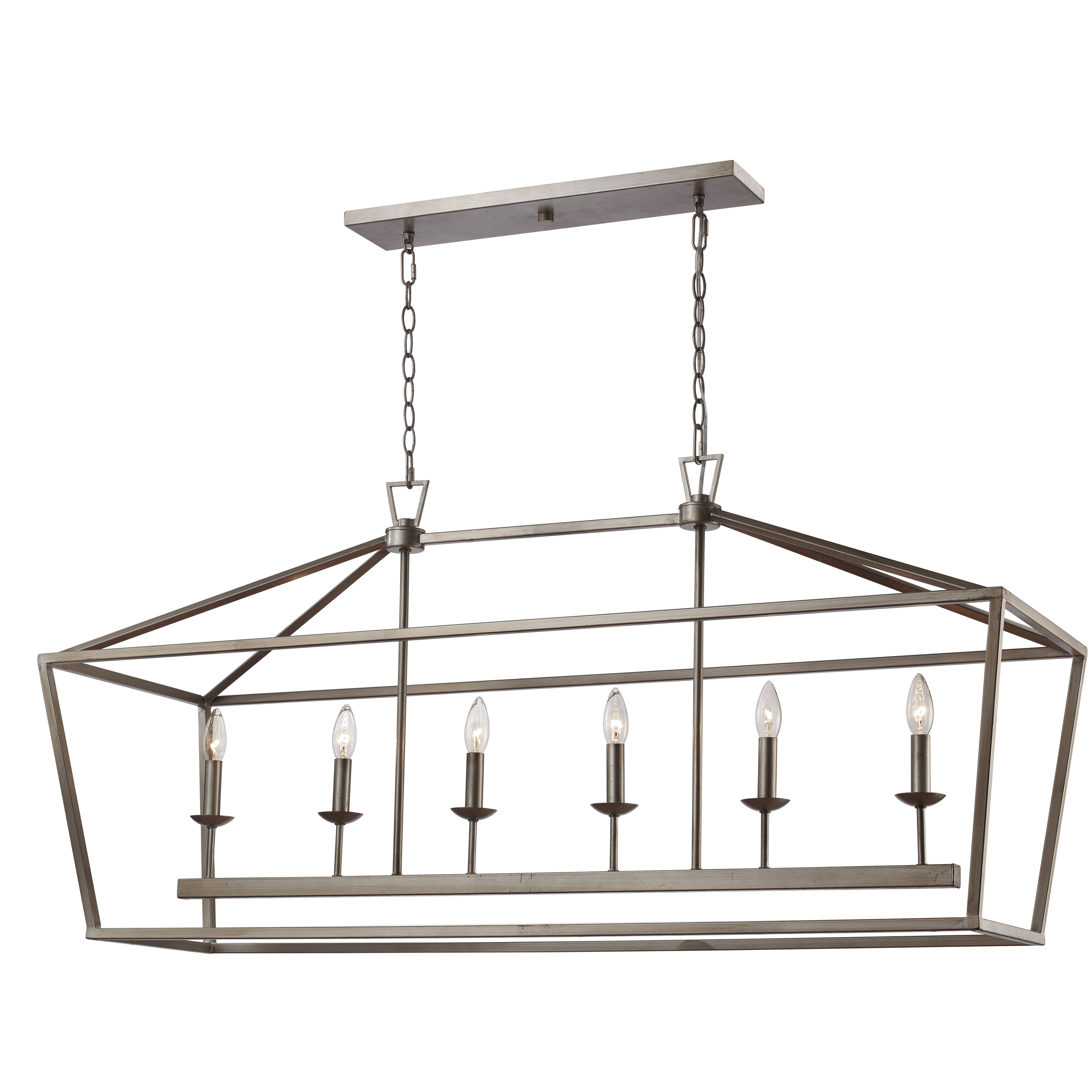 Laurel Foundry Modern Farmhouse Carmen 6-Light Geometric Pendant & Reviews | Wayfair.ca