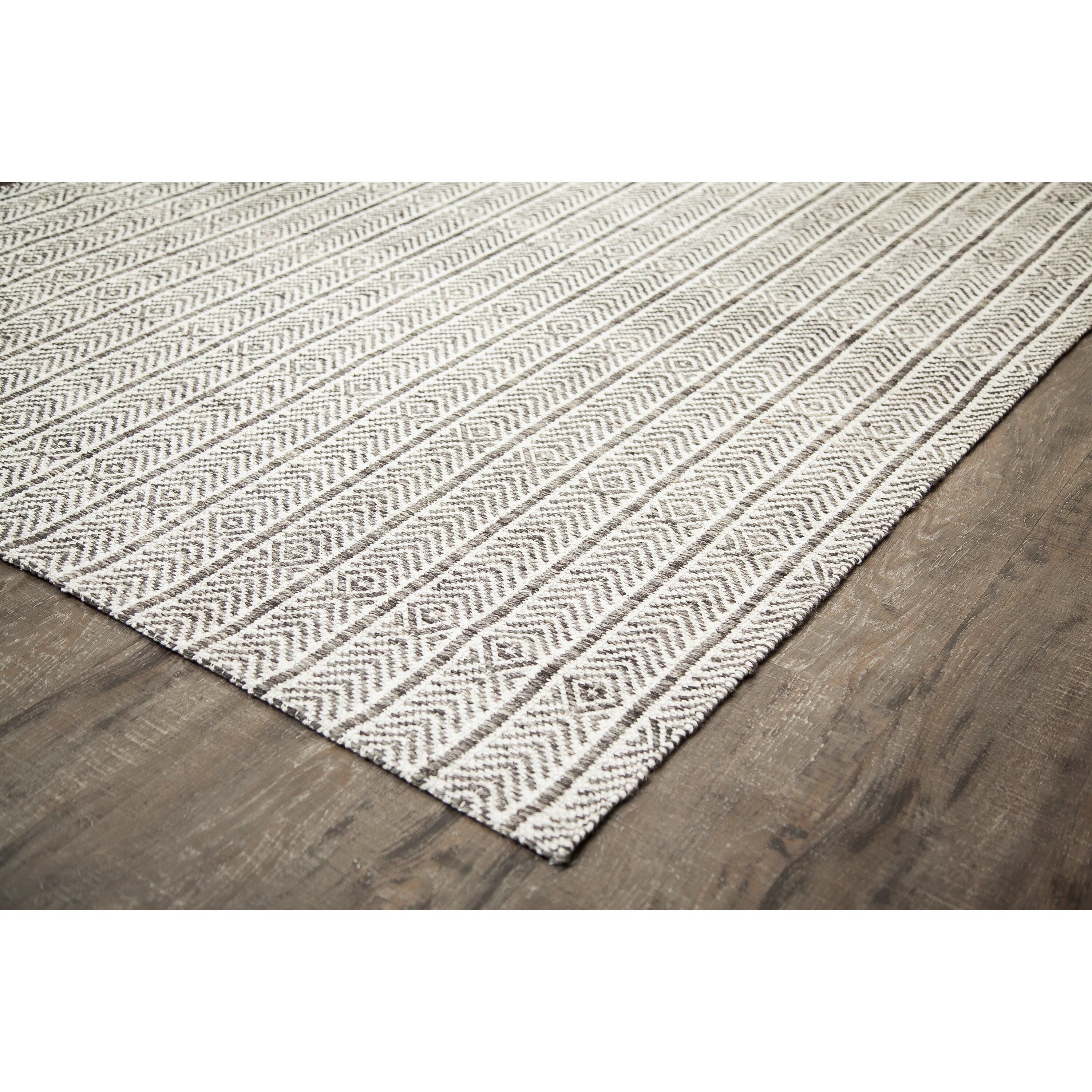 Laurel Foundry Modern Farmhouse Dions Hand Woven Gray Area Rug