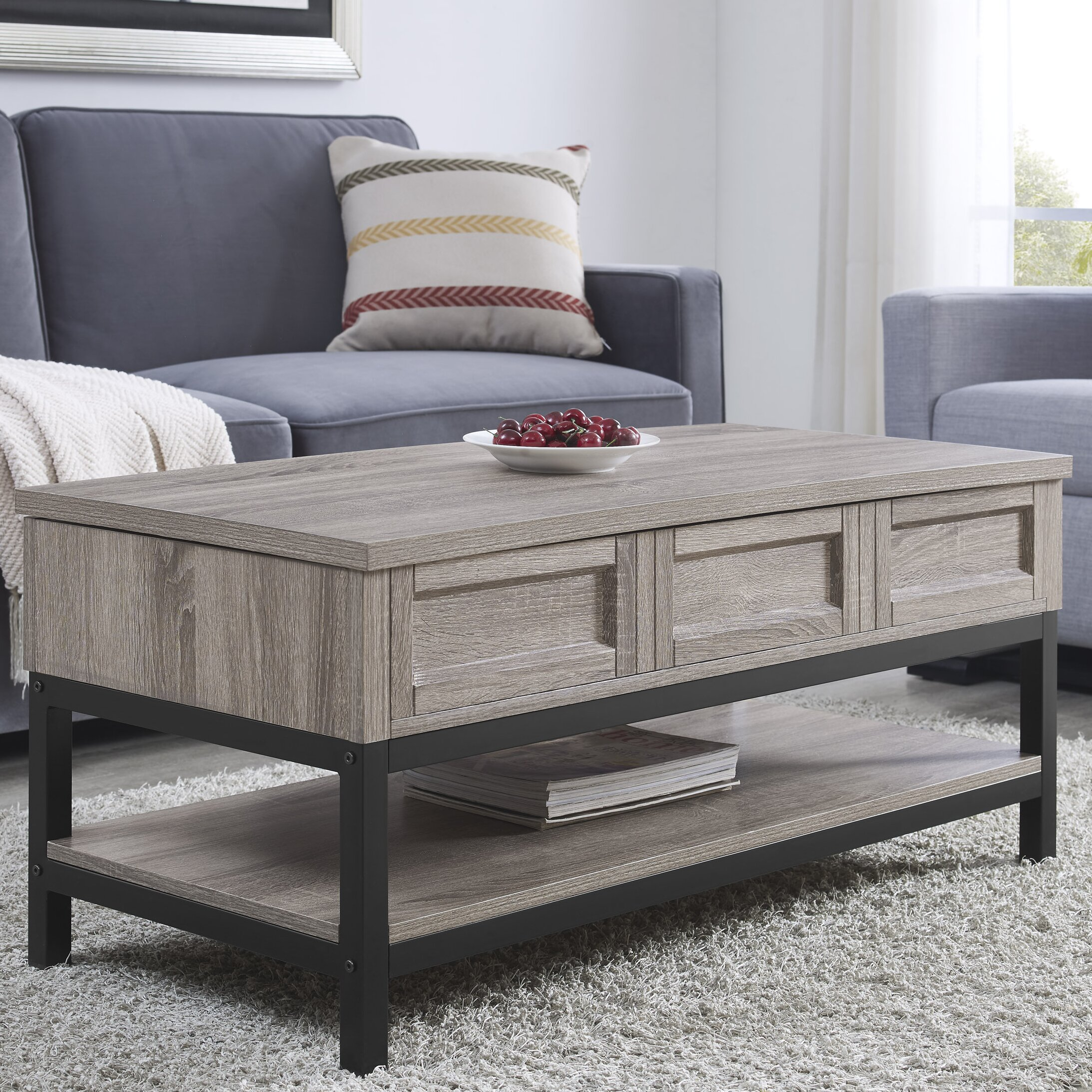 Laurel Foundry Modern Farmhouse Omar Coffee Table With