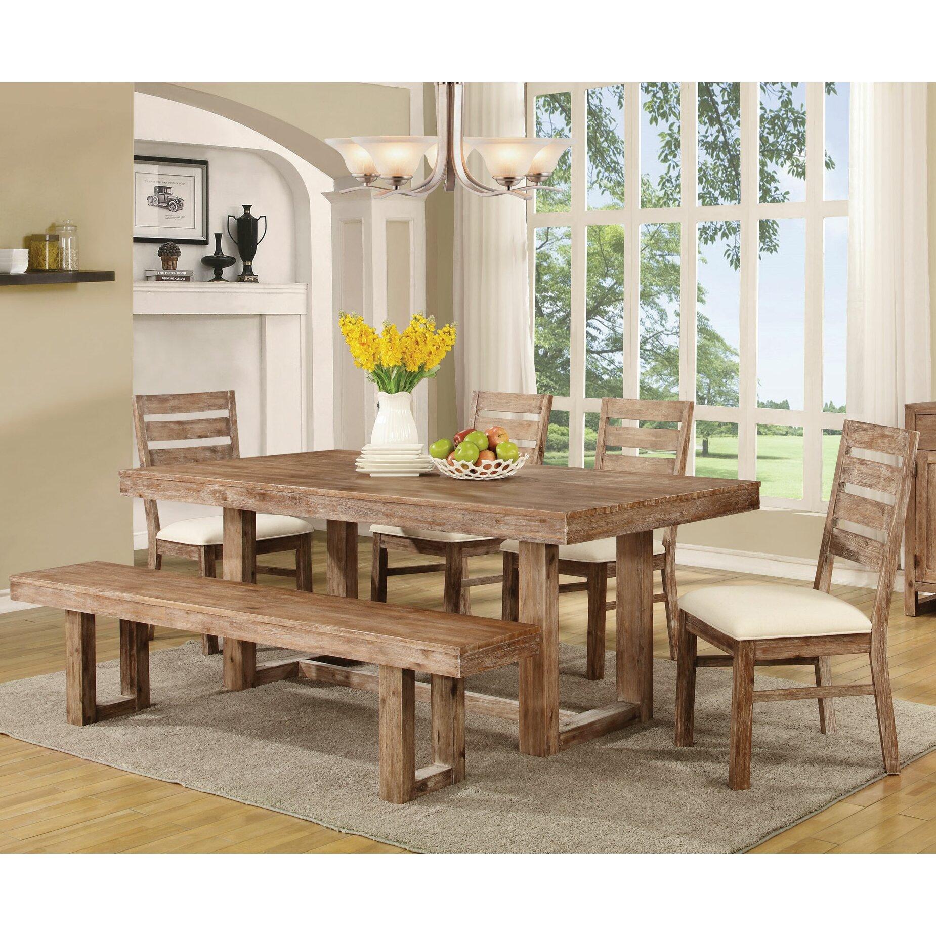 Farmhouse Dining Table: Laurel Foundry Modern Farmhouse Hector Dining Table