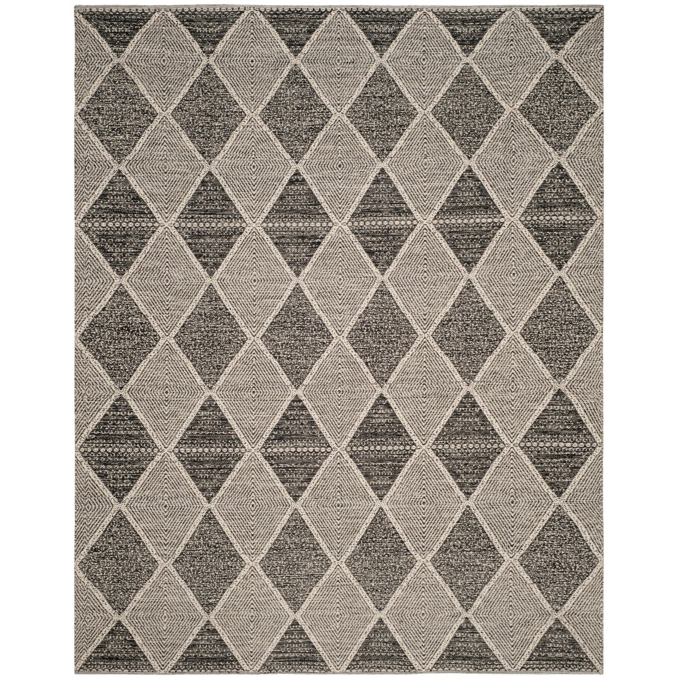 Laurel Foundry Modern Farmhouse Oxbow Hand Woven Black
