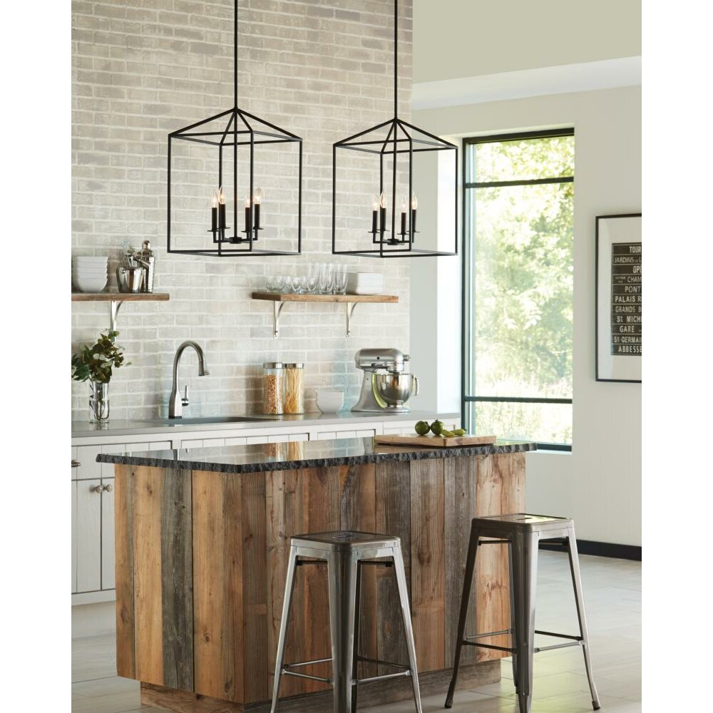 Farmhouse Entryway Chandelier: Laurel Foundry Modern Farmhouse™ Odie 8-Light Foyer