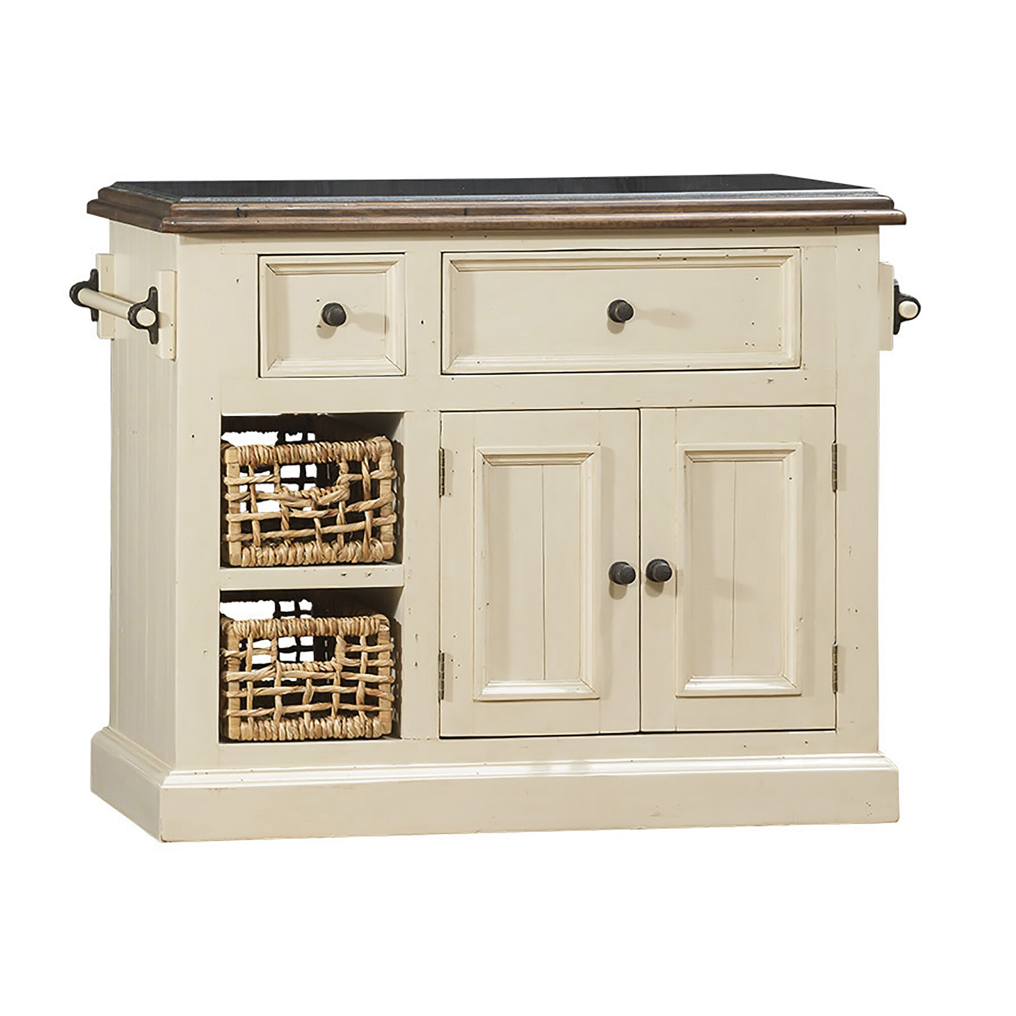 Granite Islands Kitchen White Kitchen Islands Carts Youll Love Wayfair