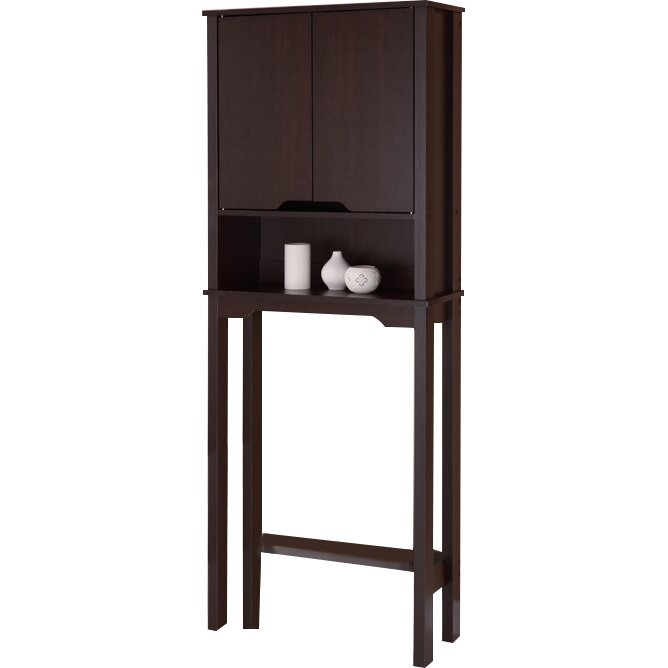 Ambassador 25 88  W x 67  H Over the Toilet Storage. Over the Toilet Storage Cabinets   Bathroom Etagere You ll Love