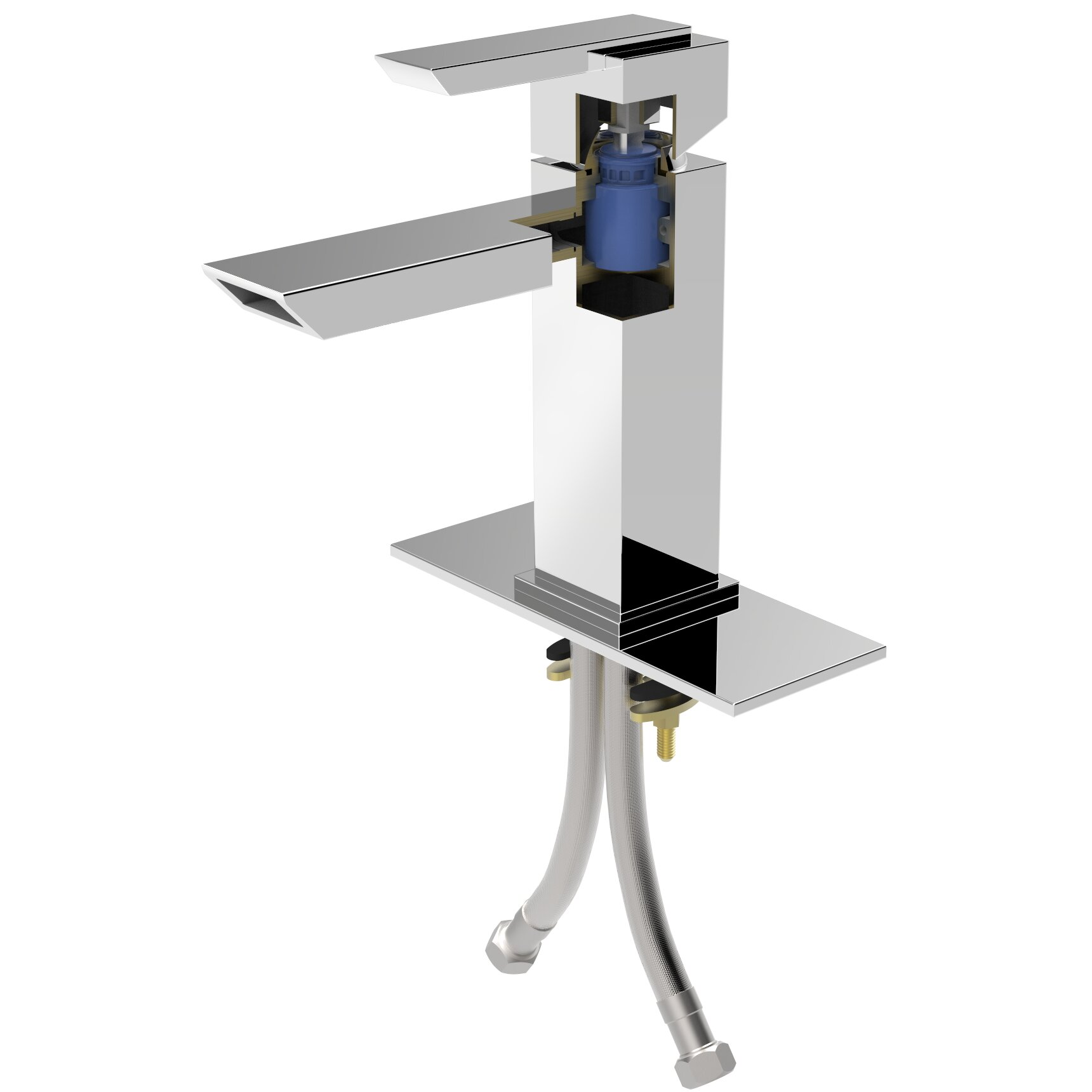 Artika Oblique Single Handle Lavatory Faucet Amp Reviews
