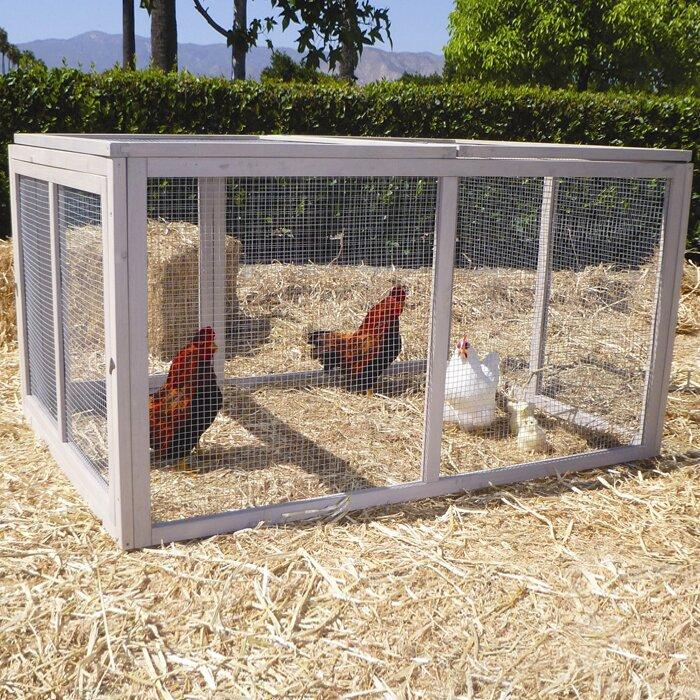 Precision Pet Extreme Hen Chicken Run & Reviews | Wayfair
