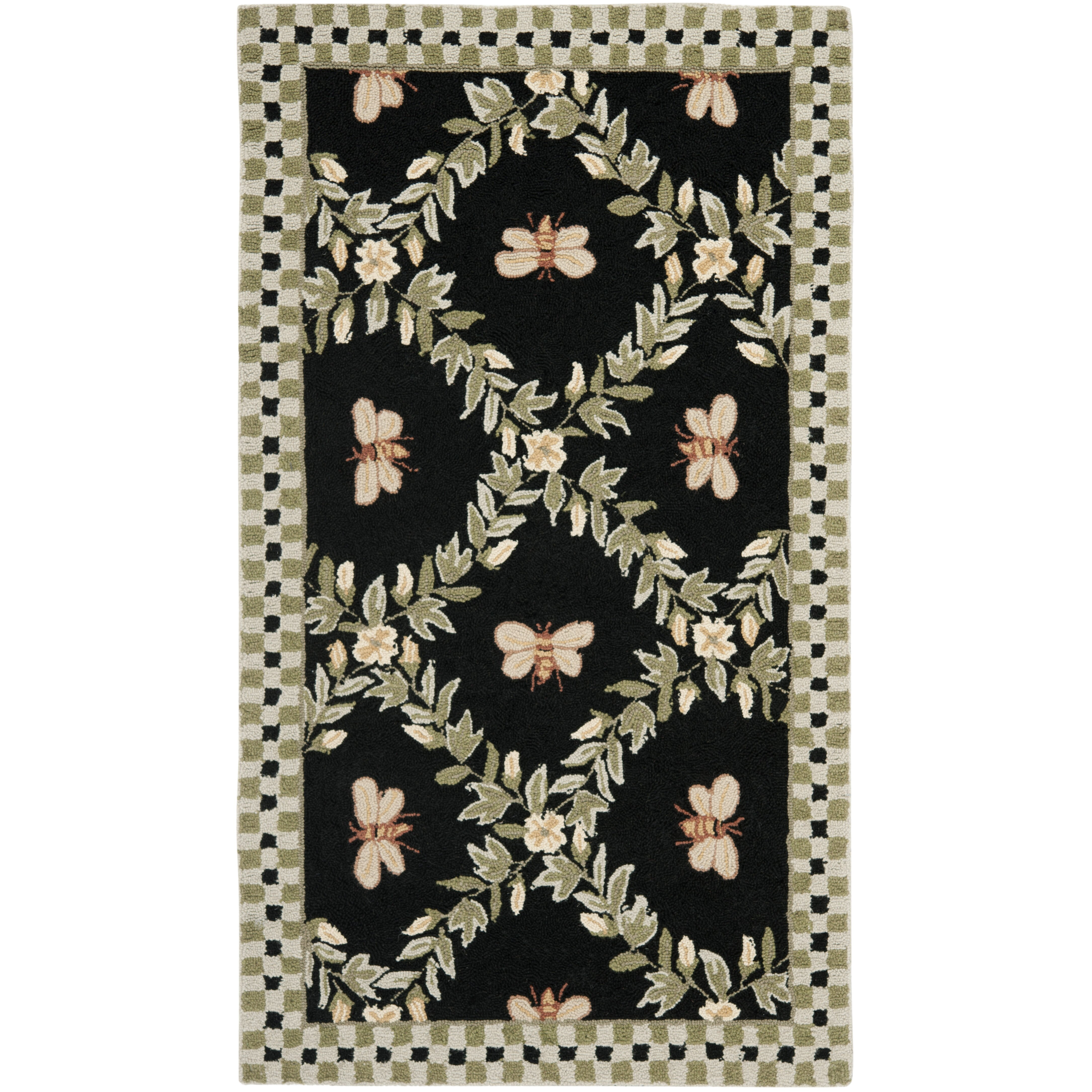 Bumble Bee Rug Home Decor