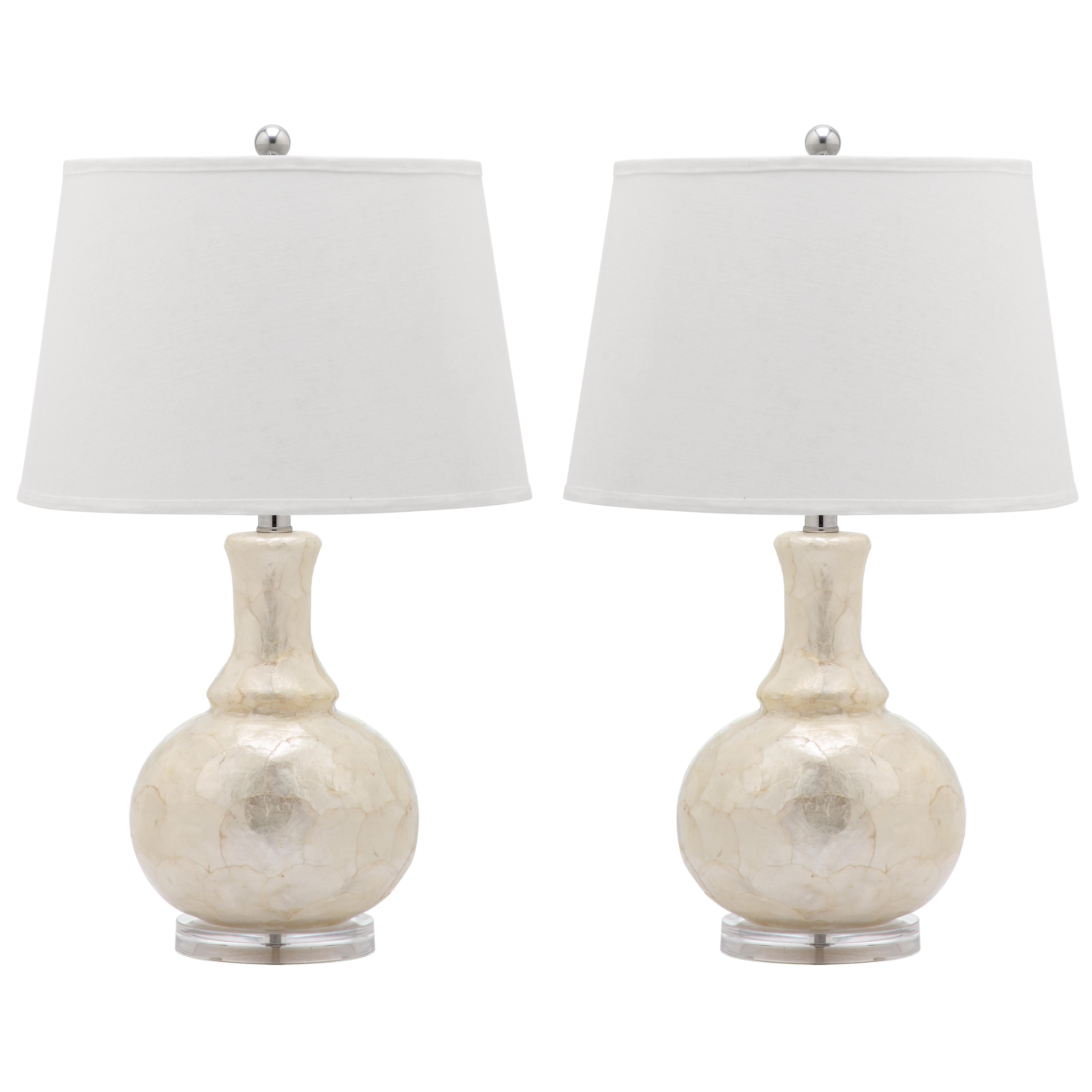 Safavieh Shelley Gourd Table Lamps Set Of 2