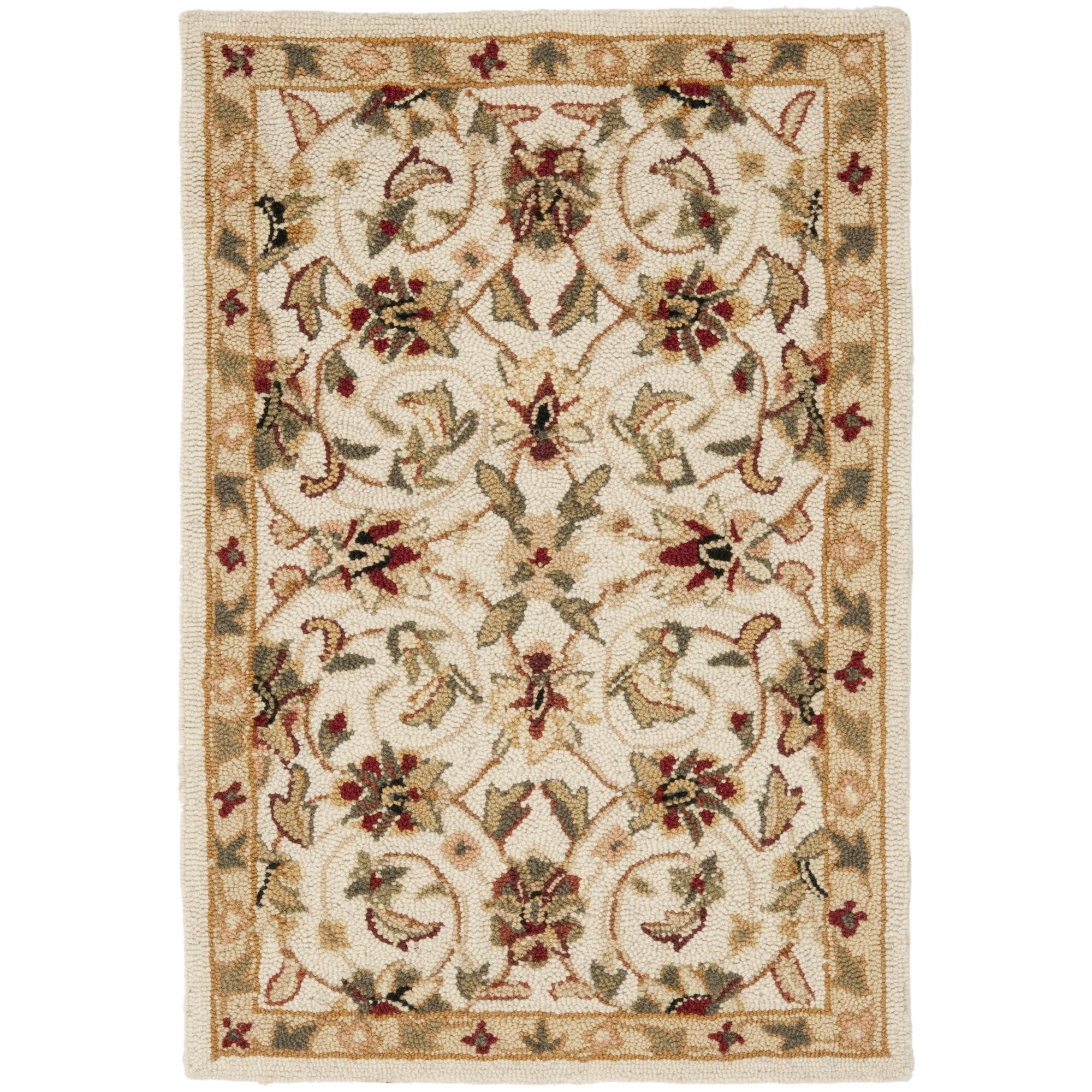 Dog Eating Wool Rug: Safavieh Chelsea Ivory Area Rug & Reviews