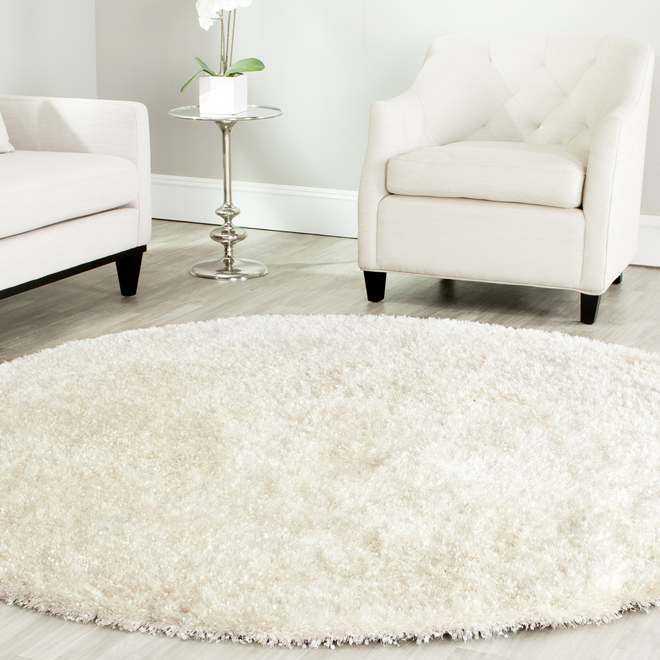Safavieh Malibu Hand Tufted White Area Rug Amp Reviews Wayfair