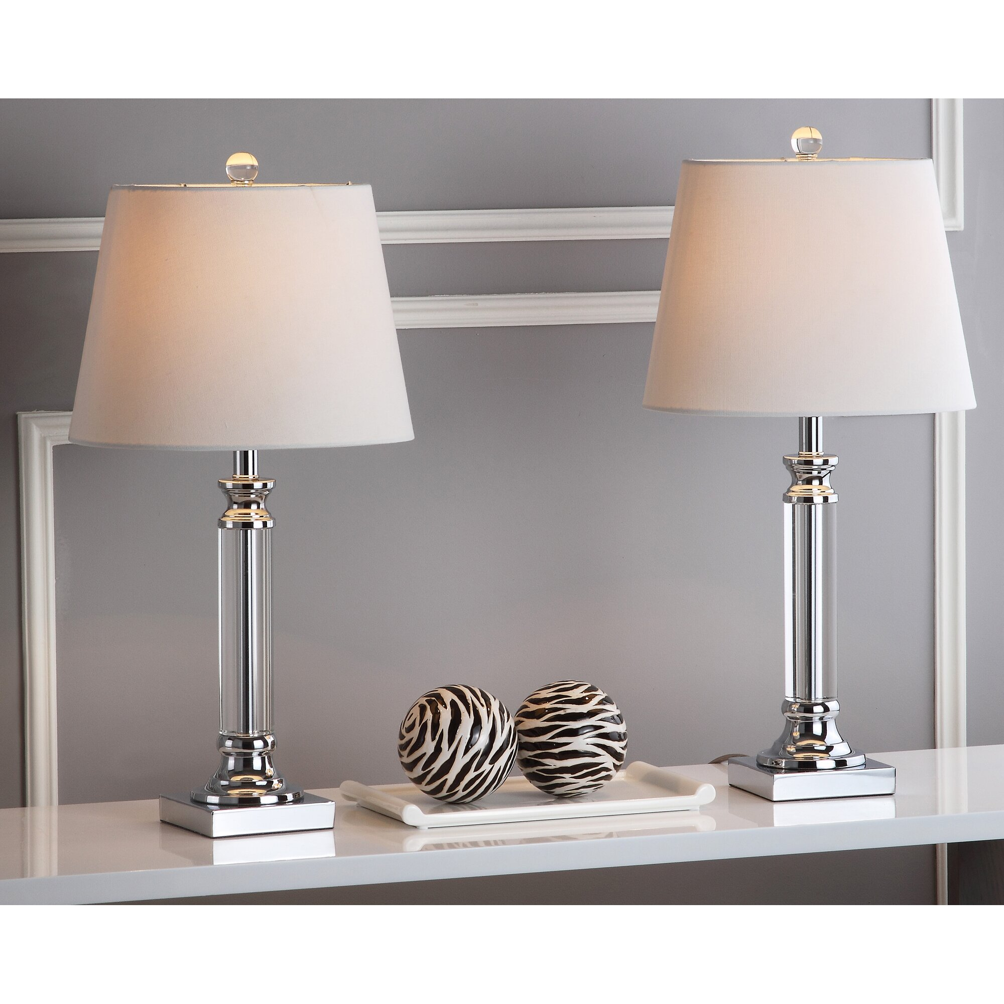 safavieh zara 23 5 table lamp reviews. Black Bedroom Furniture Sets. Home Design Ideas