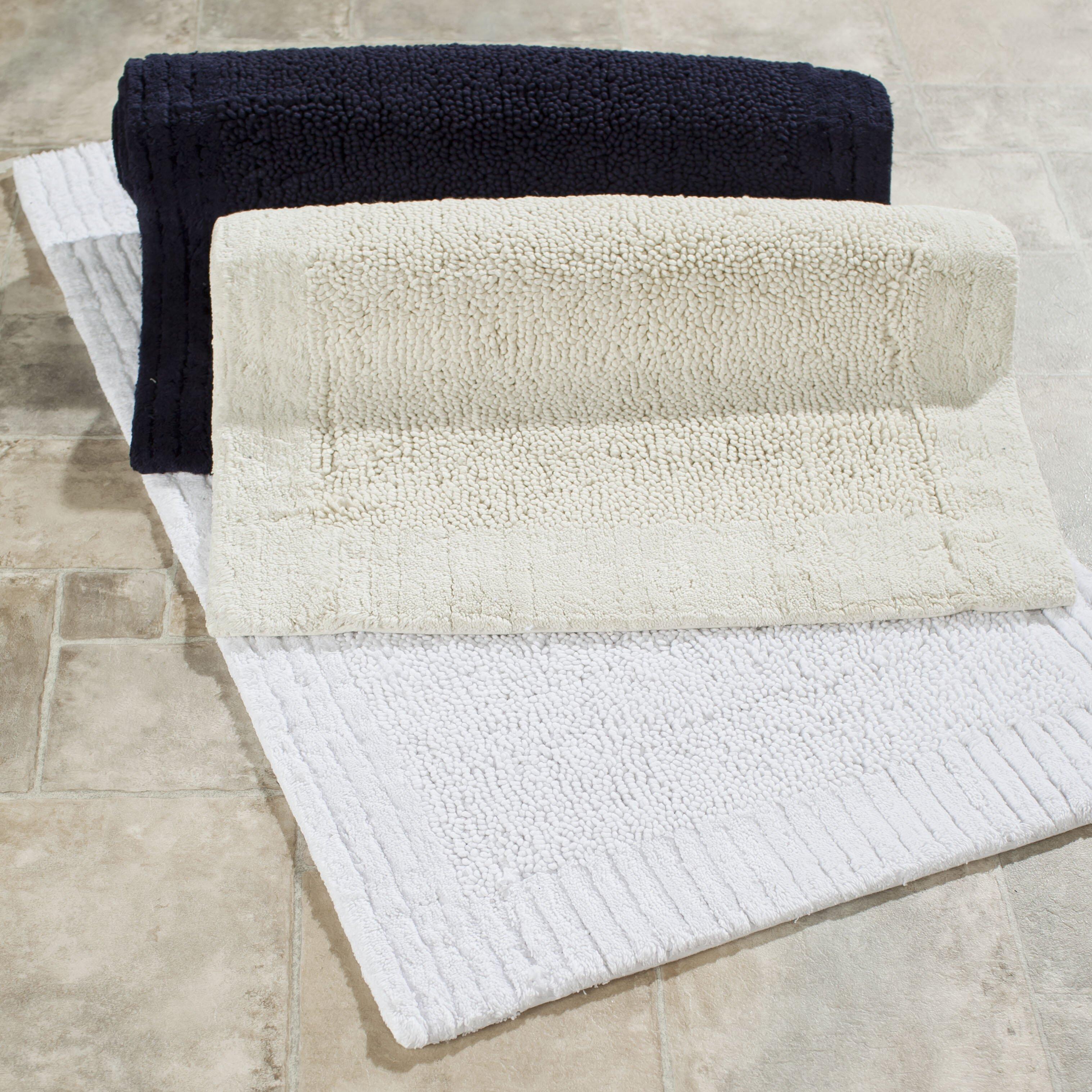 Plush Bathroom Rugs Safavieh Plush Master Bath Rug Ii Reviews Wayfair