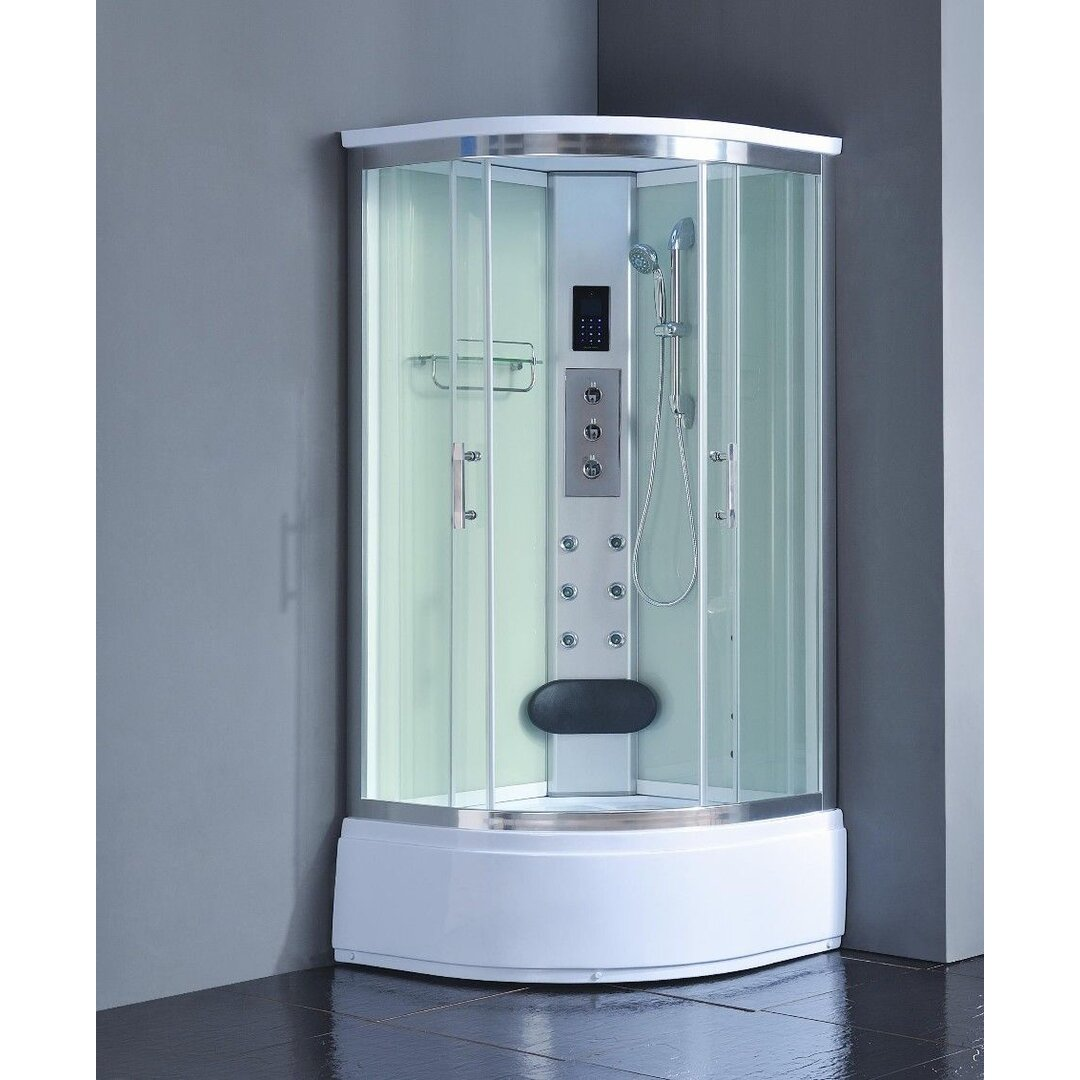 Kokss 36 X 36 X 83 Corner Shower Enclosure Wayfair