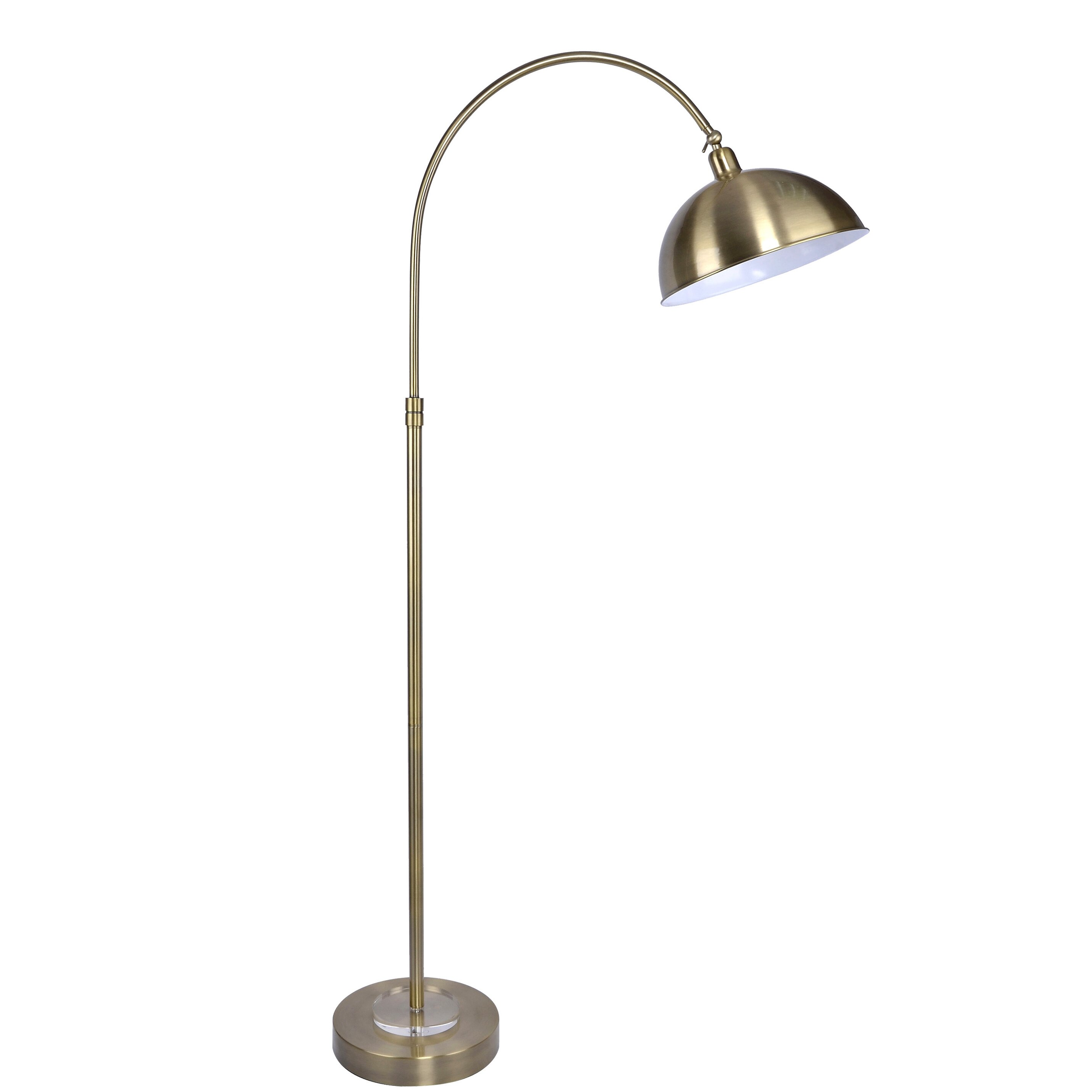 Eldshult table lamp ikea fabric shade gives a diffused and decorative - Vintage 63 5 Arched Floor Lamp