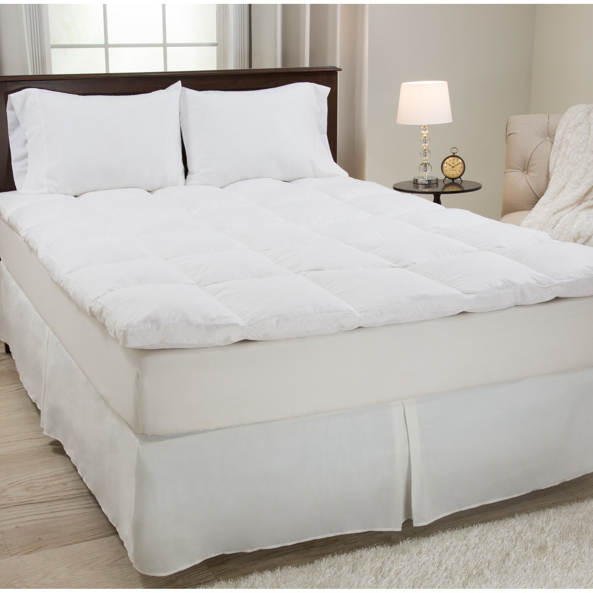 "PLYH 2"" Duck Feather Mattress Topper & Reviews"