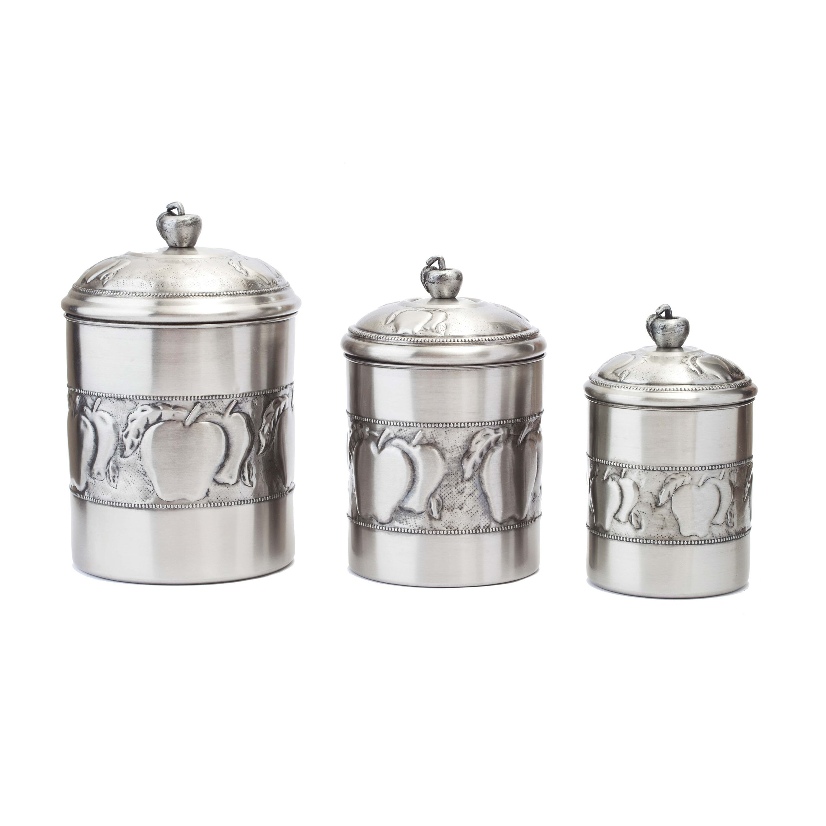 White Kitchen Canisters Sets. Great Oggi With White Kitchen ...