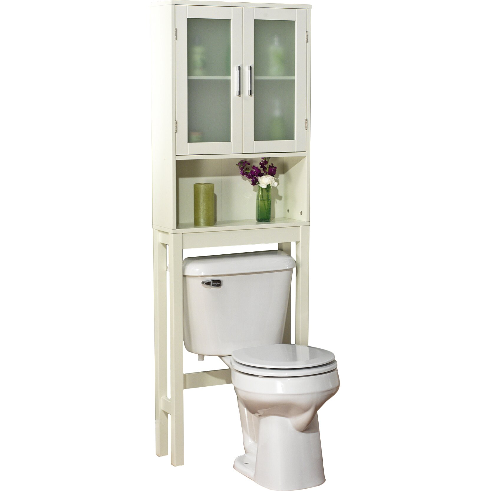 Over The John Storage Cabinet Over Toilet Storage Cabinet Reviews Joss Main