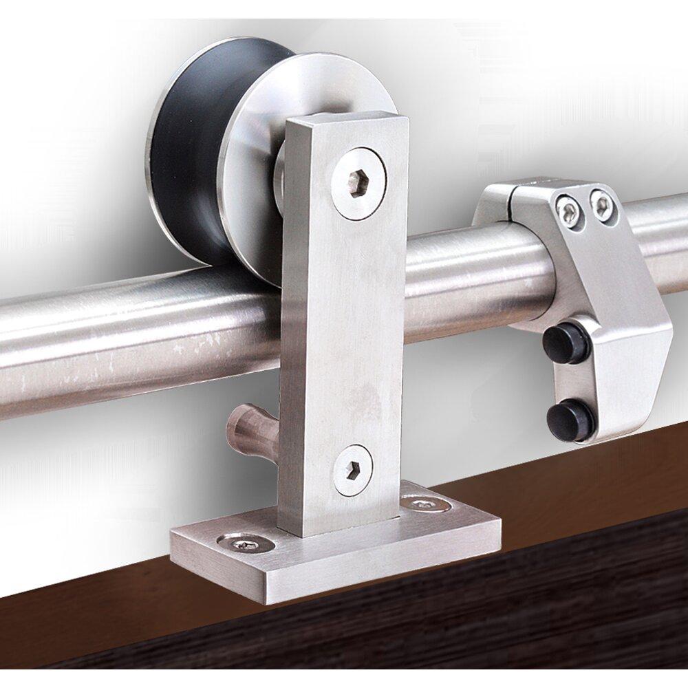 Barn Door Style Side Mount Sliding Hardware: Door Glide A67 & Contemporary Gliding Patio Doors