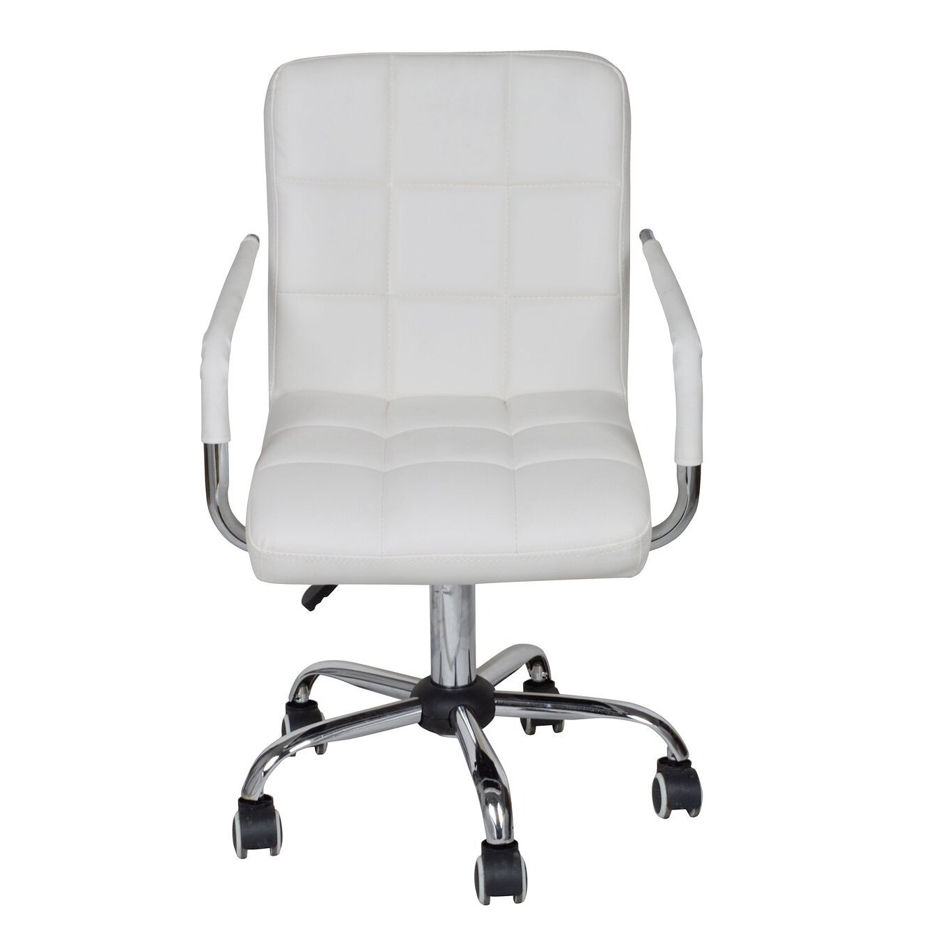 adjustable rolling office chair reviews joss main. Black Bedroom Furniture Sets. Home Design Ideas