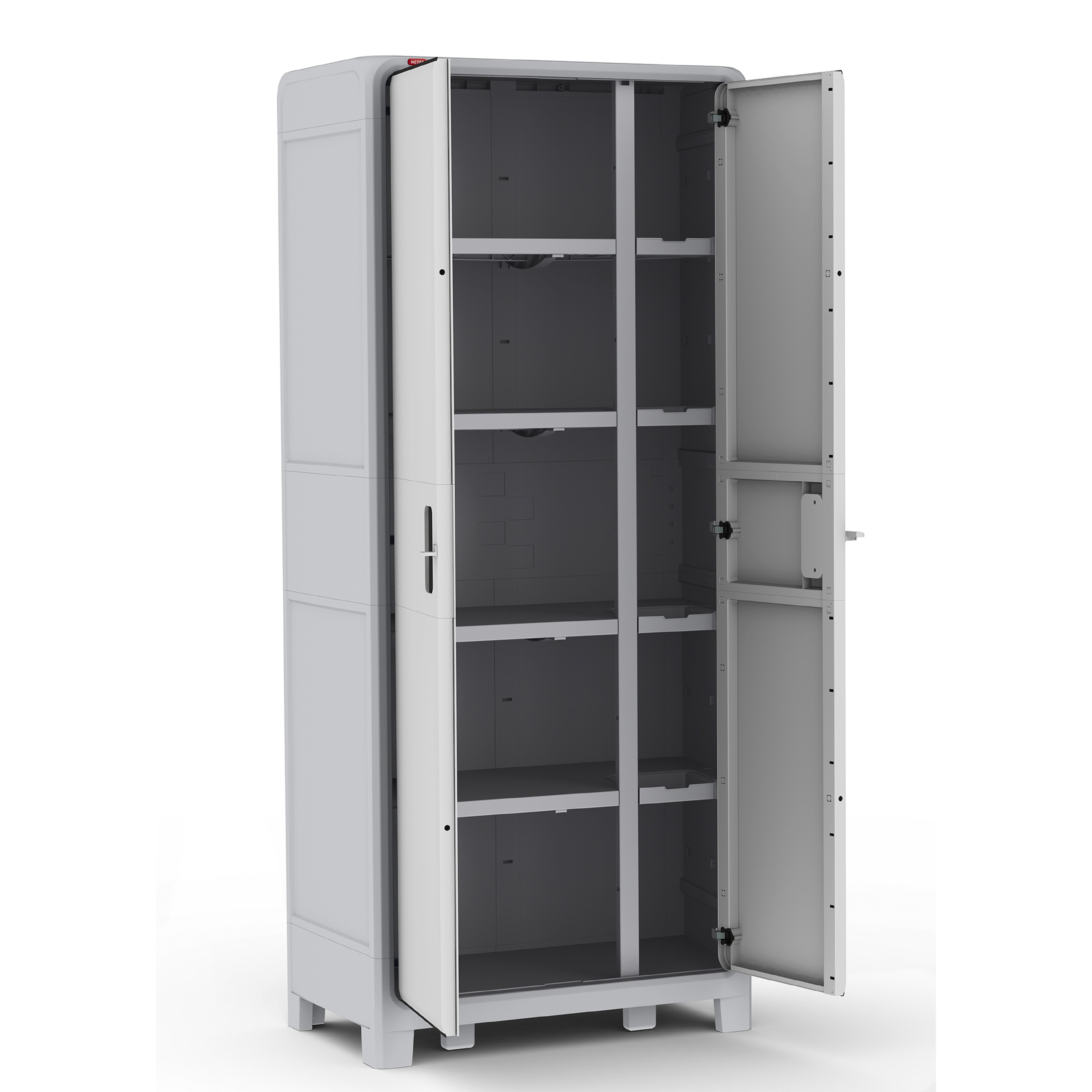 18 Storage Cabinet Keter Optima Wonder Plastic 72 H X 31 W X 18 D Storage Cabinet