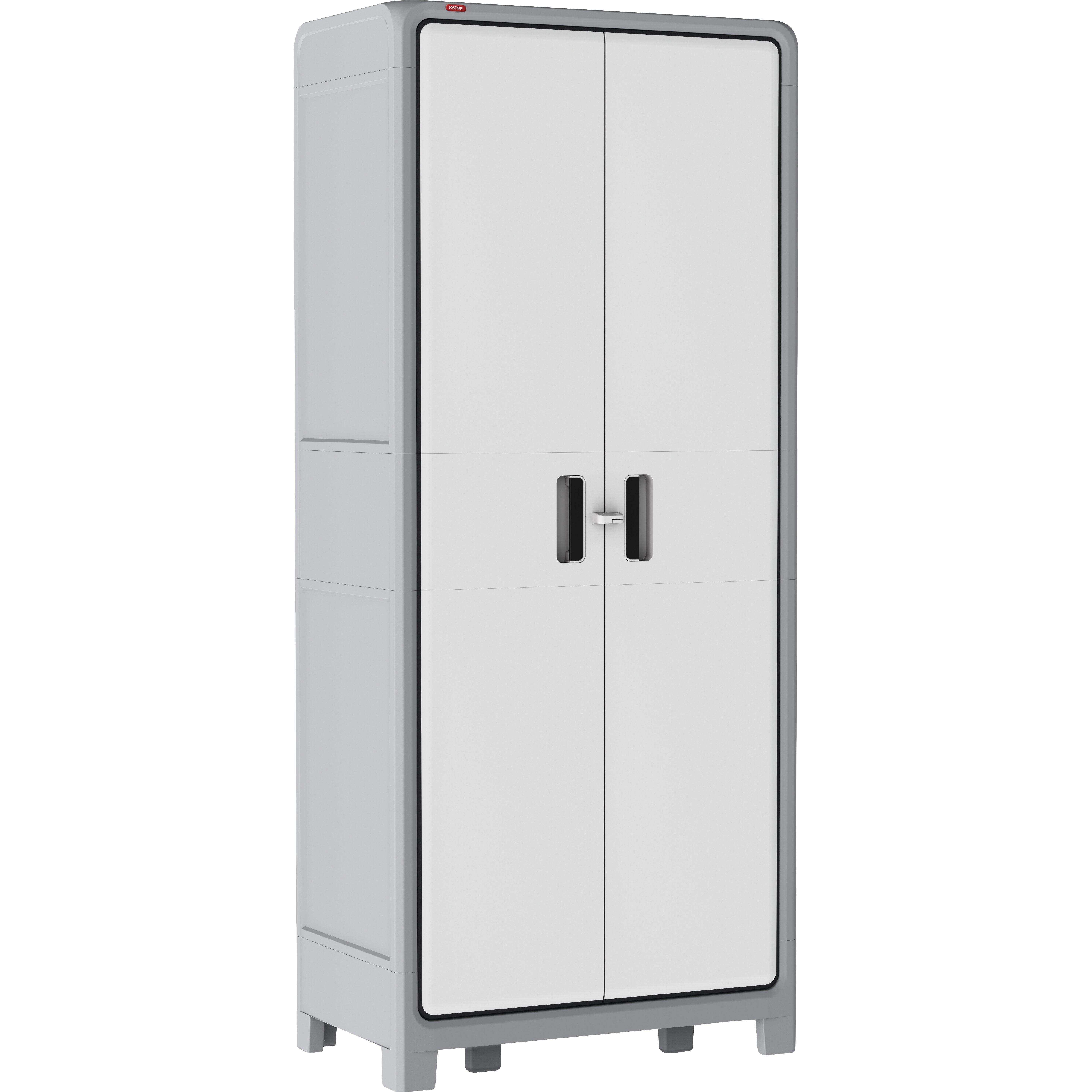 18 Storage Cabinet Optima Wonder Plastic 72 H X 31 W X 18 D Storage Cabinet