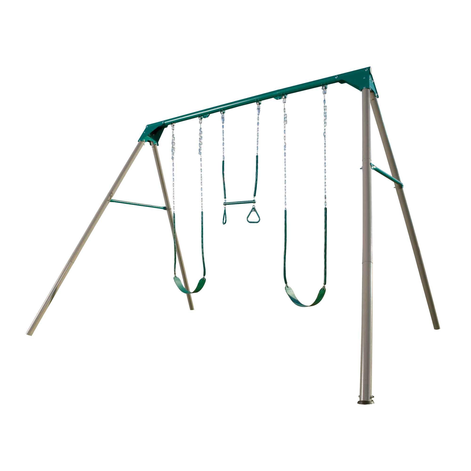 lifetime a frame swing set