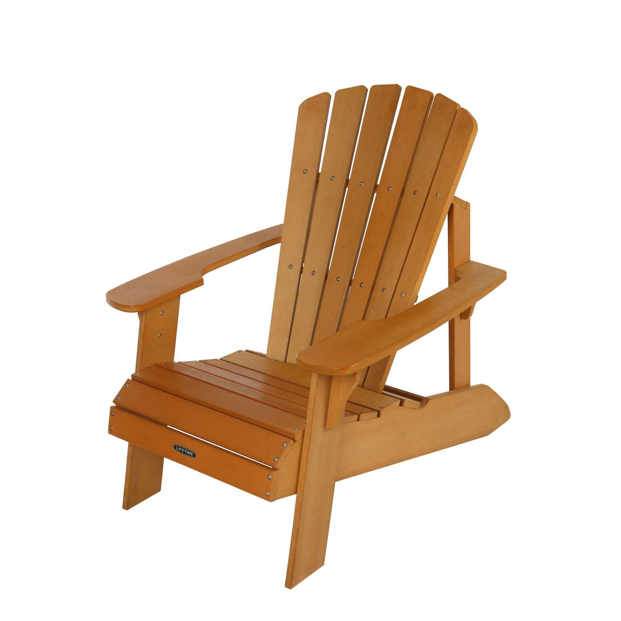 Outdoor Patio Furniture ... Plastic Adirondack Chairs Lifetime SKU ...