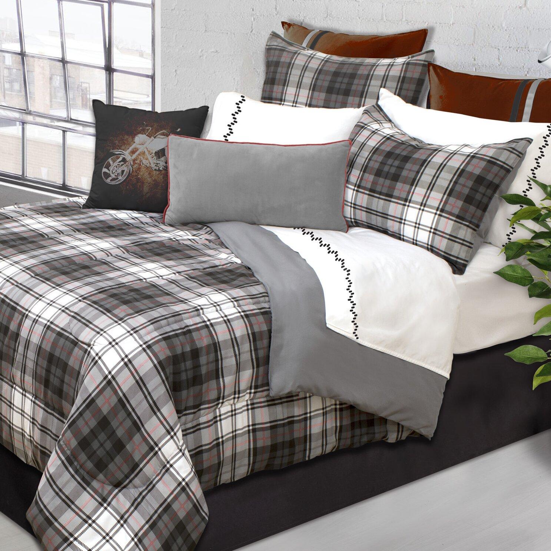 Safdie Amp Co Inc Devon Plaid 2 Piece Comforter Set