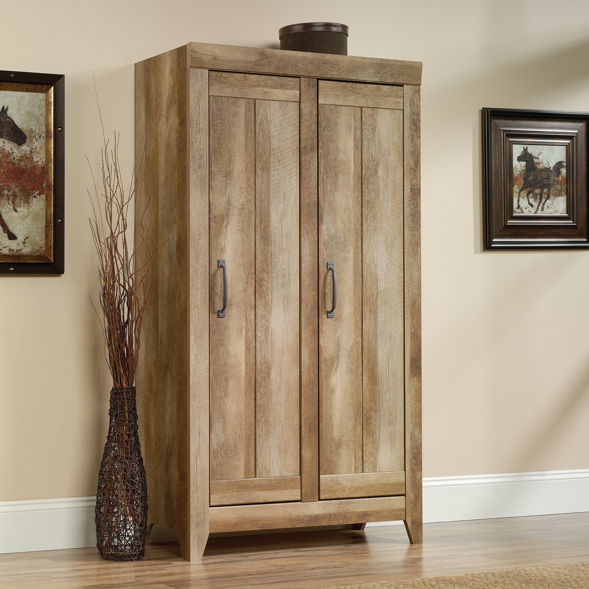 Wooden Storage Cabinets With Doors Andover Mills Orville 2 Door Storage Cabinet Reviews Wayfair